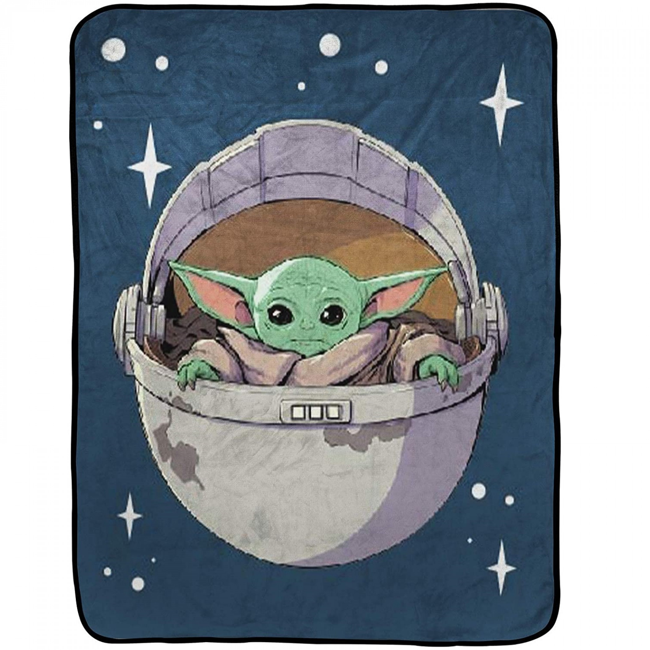 Star Wars The Mandalorian The Child Carriage Blanket