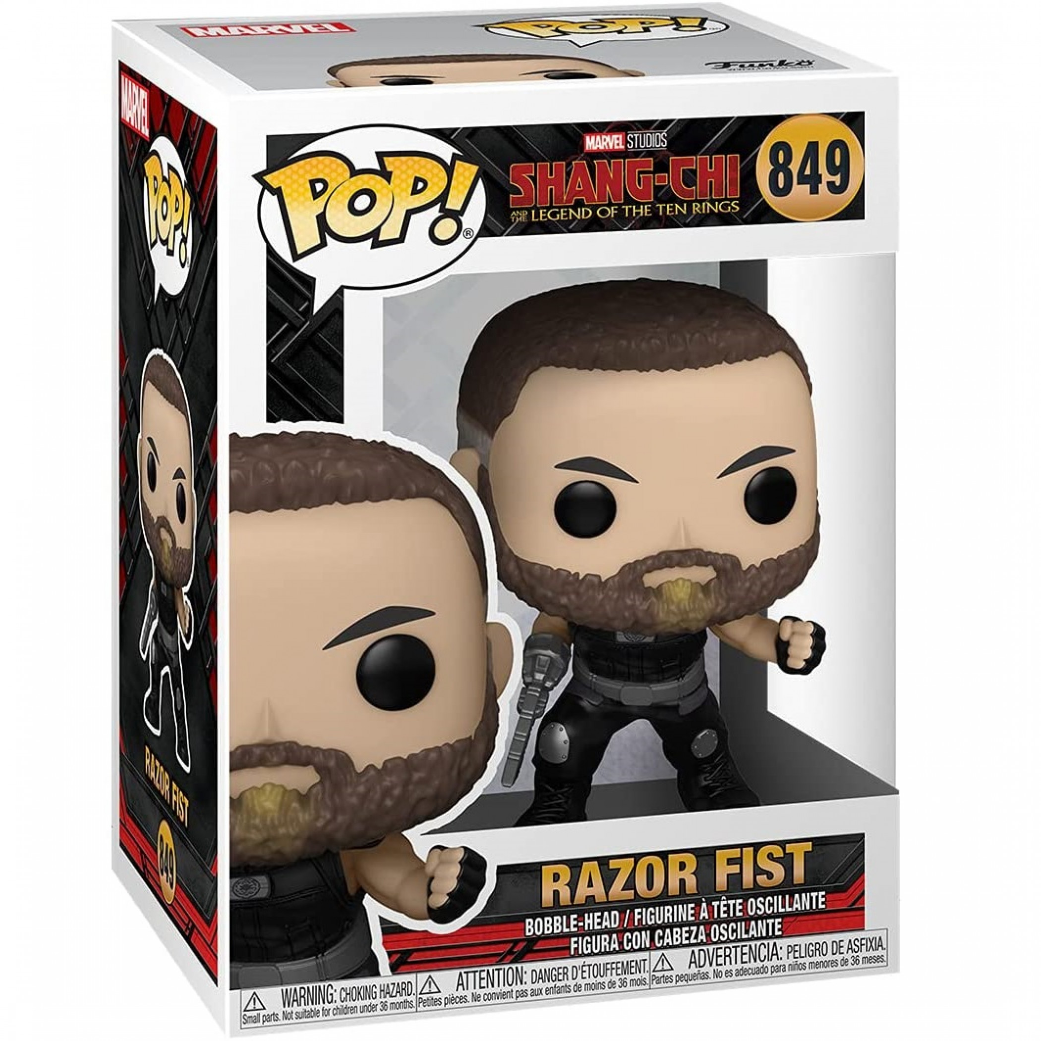 Shang-Chi and the Legends of the Ten Rings Razor Fist Funko Pop! Vinyl Figure