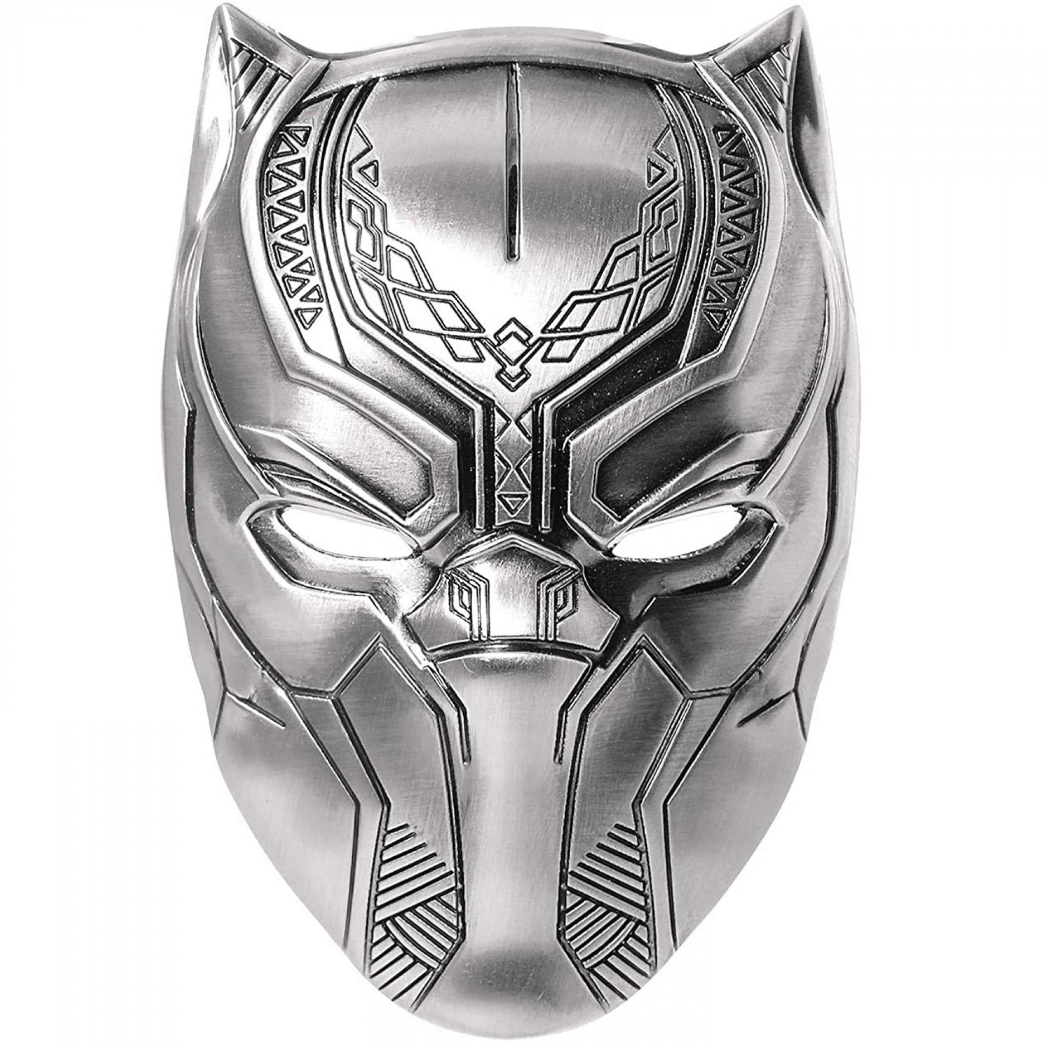 Marvel Black Panther Helmet Pewter Lapel Pin