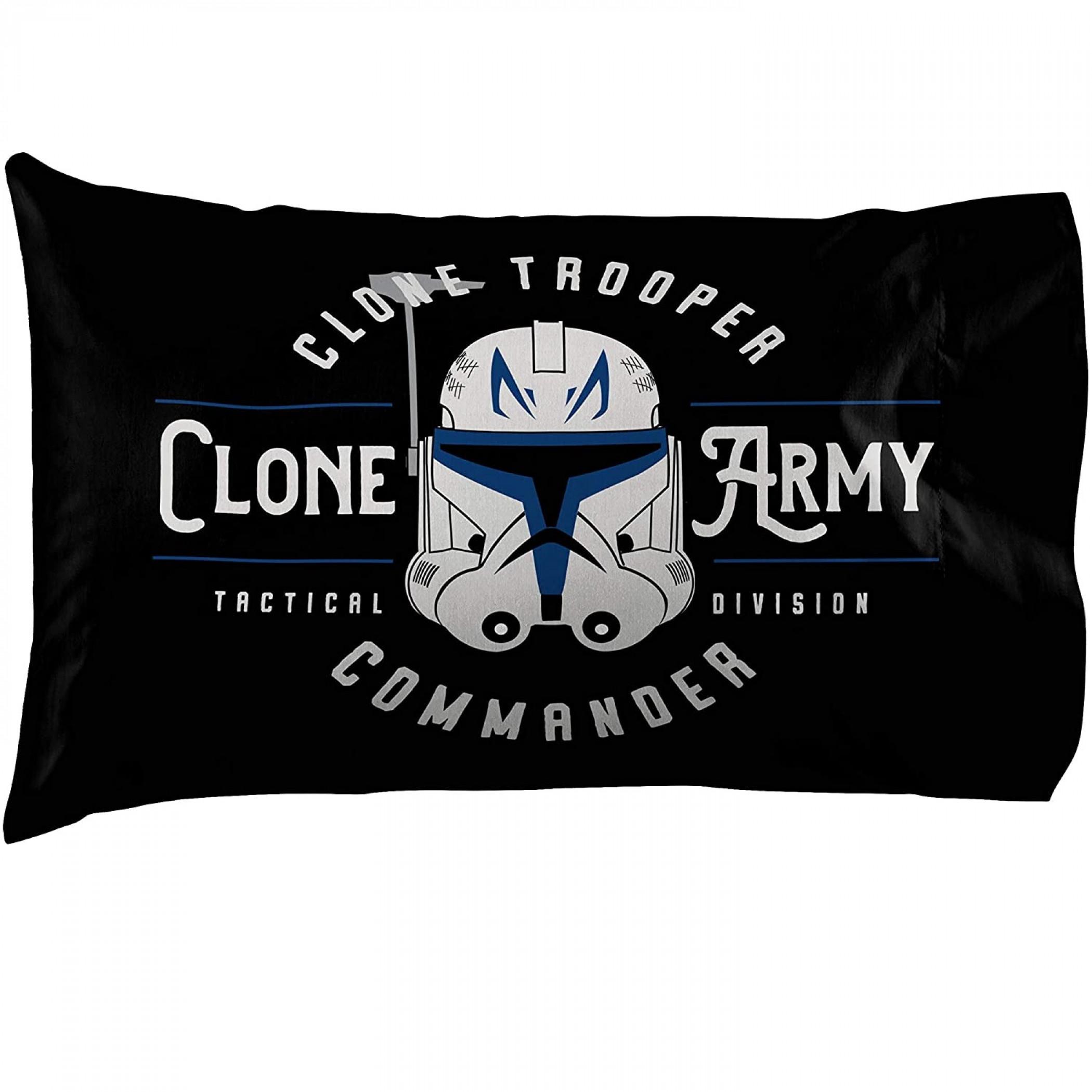 Star Wars Clone Wars Clone Army Pillowcase