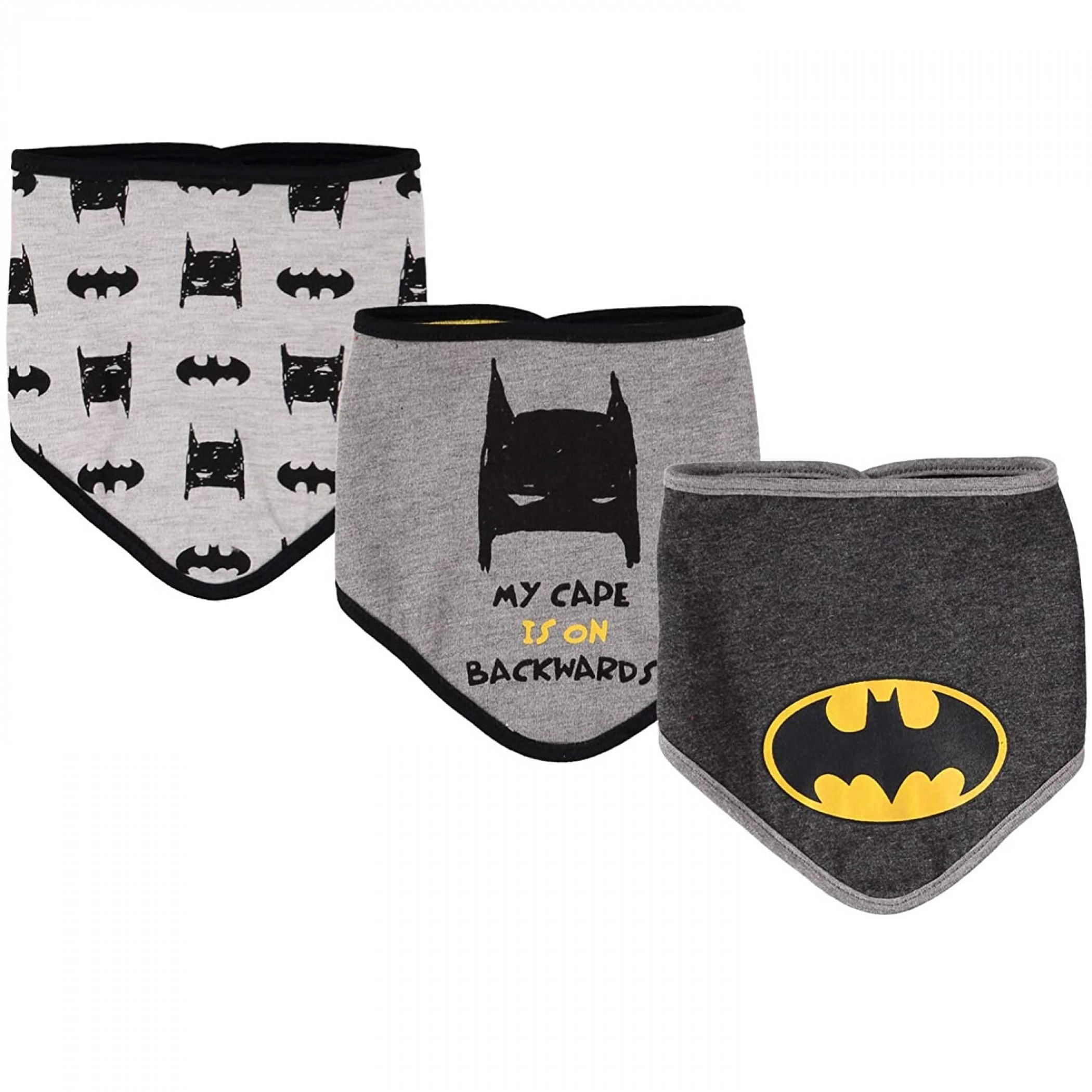 Batman Bandana Bibs 3-Pack