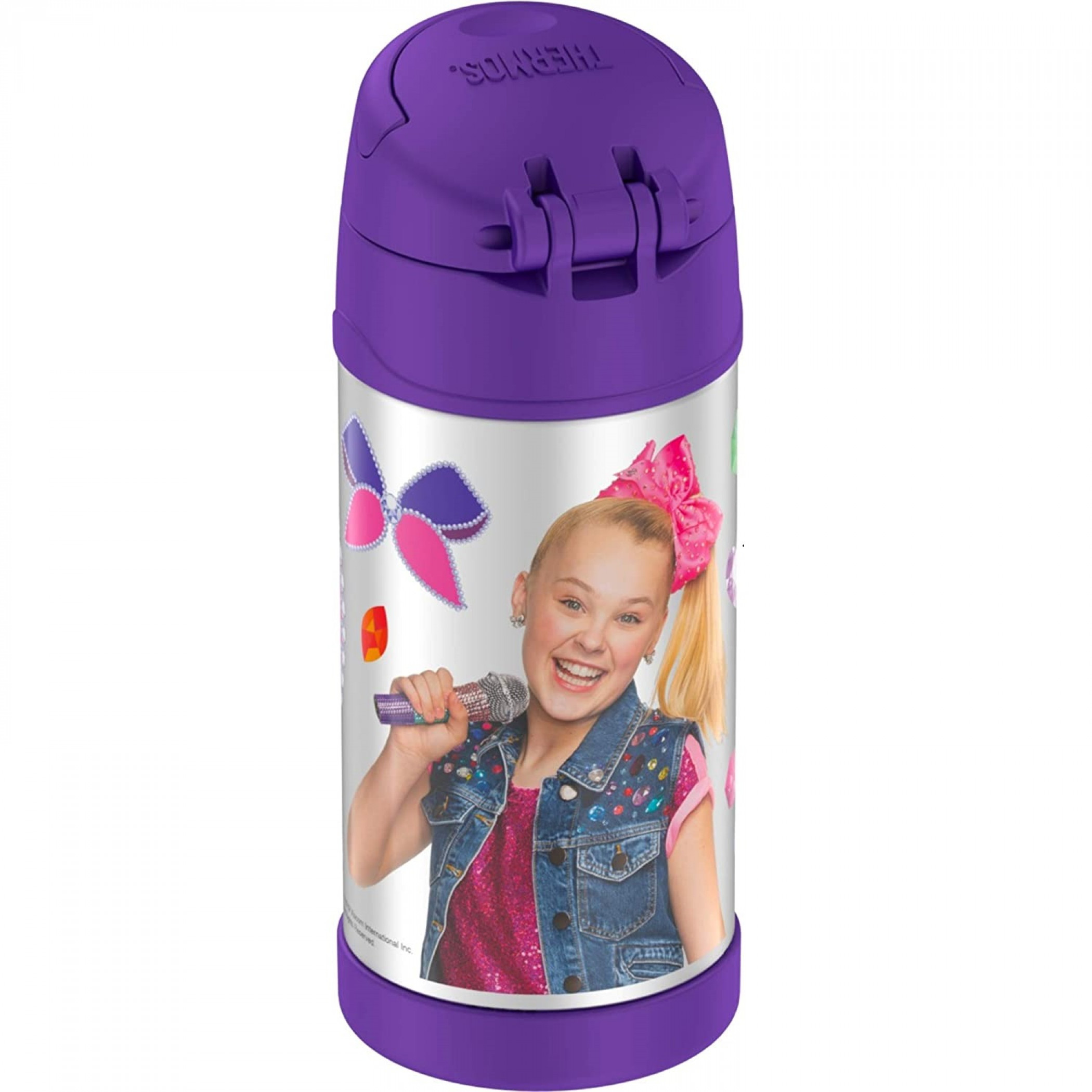 JoJo Siwa 12 Oz Thermos Bottle