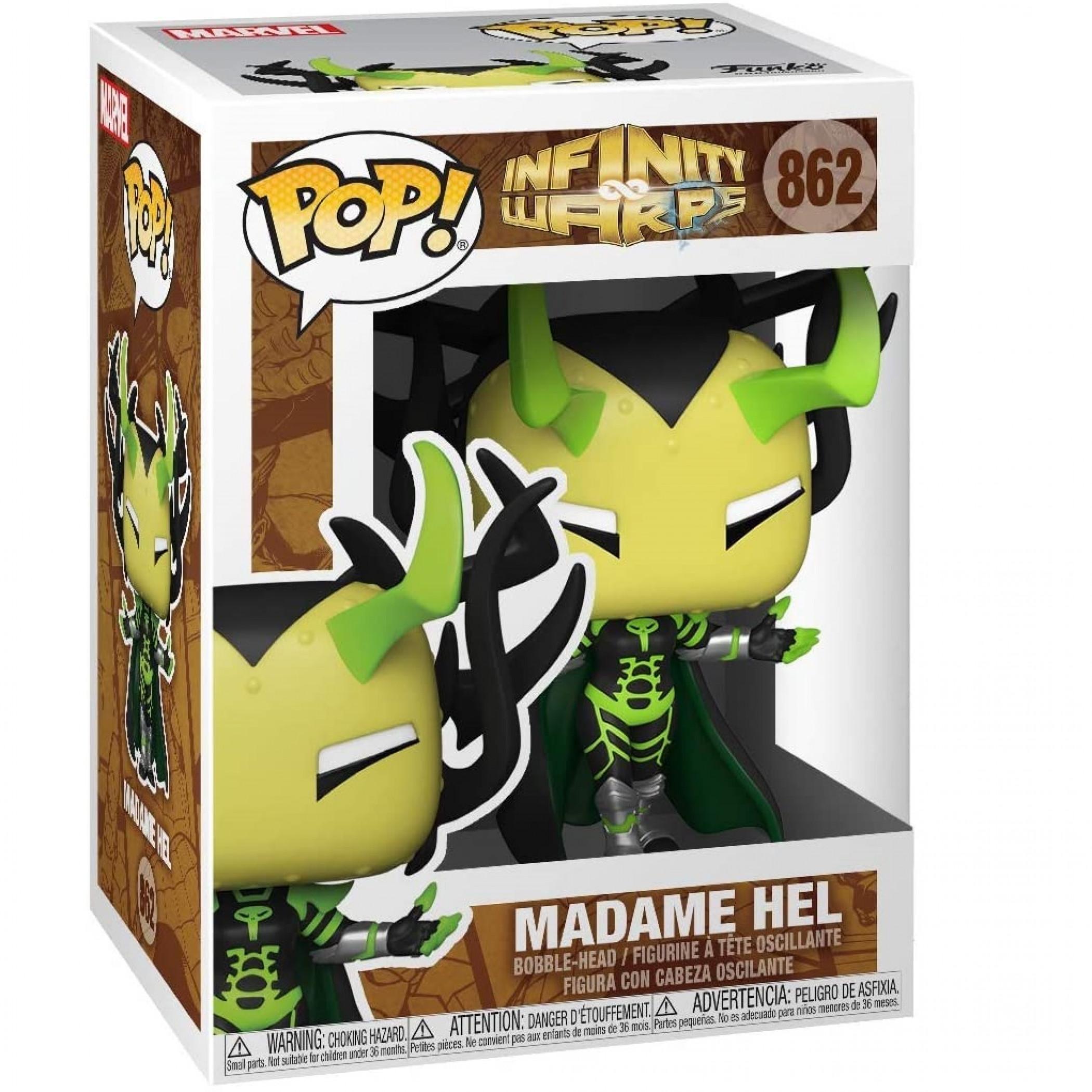 Marvel Infinity Warps Madame Hel Funko Pop! Vinyl Figure