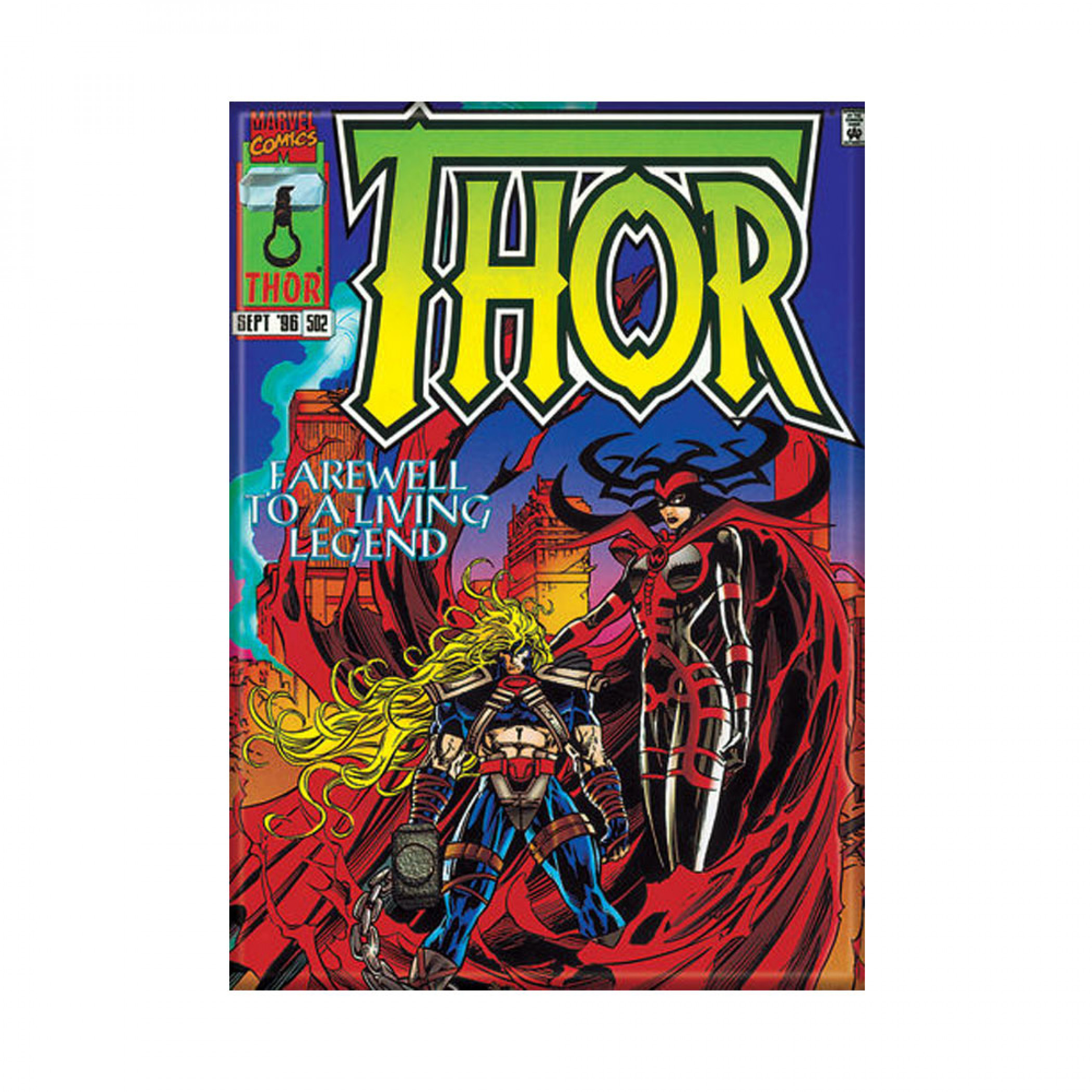 Thor Comic Cover #502 Magnet
