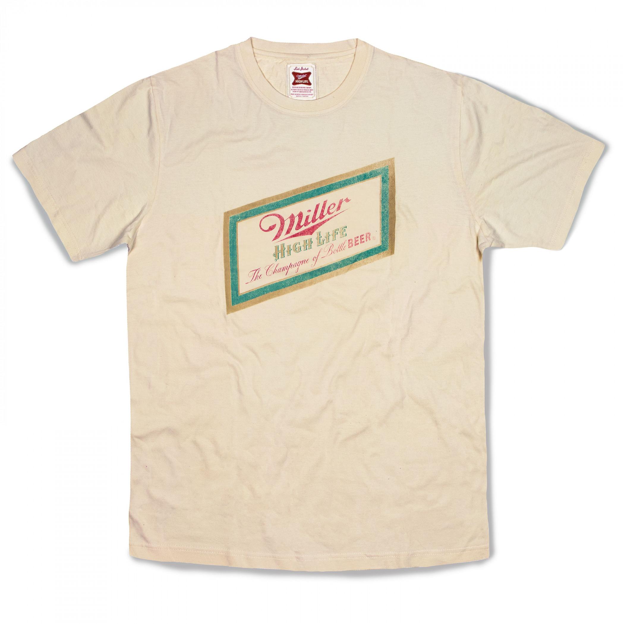 Miller High Life Classic Banner Logo T-Shirt
