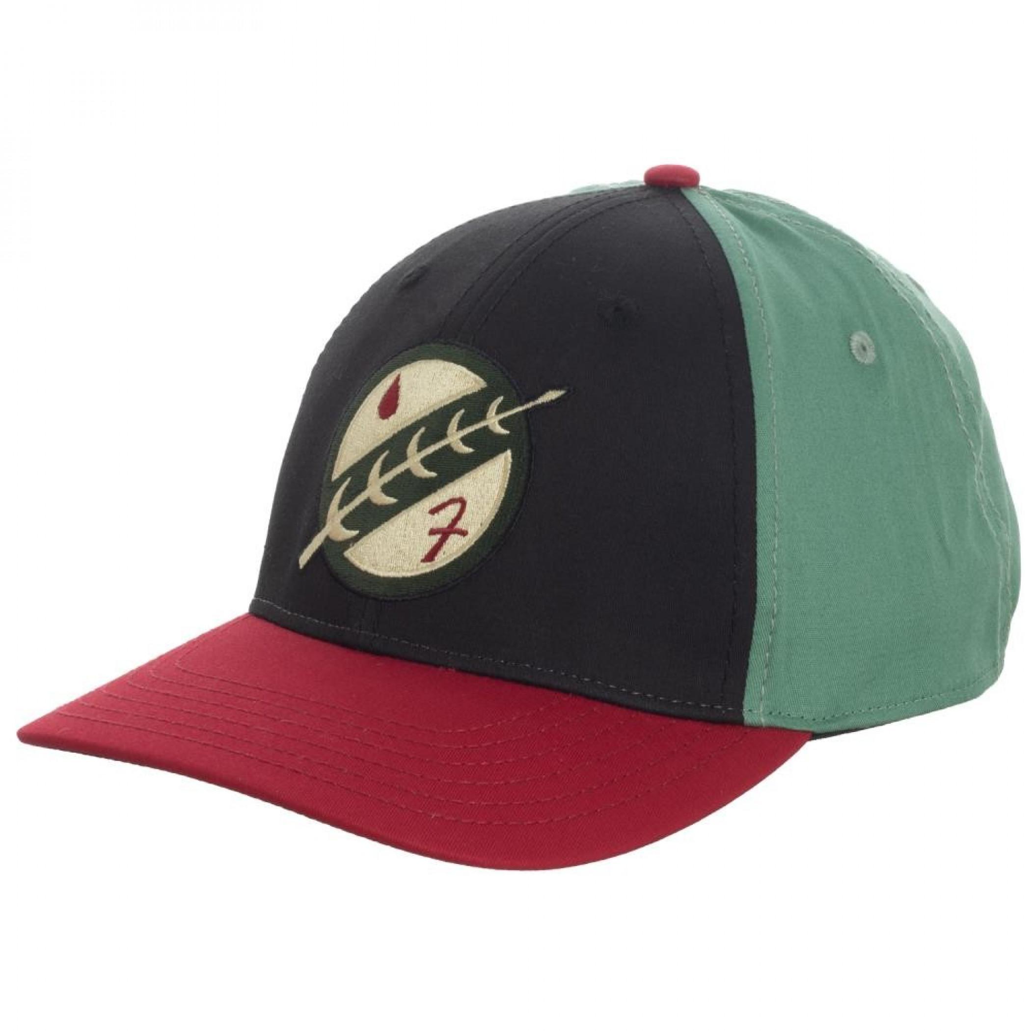 Boba Fett Embroidered Flex Fit Hat
