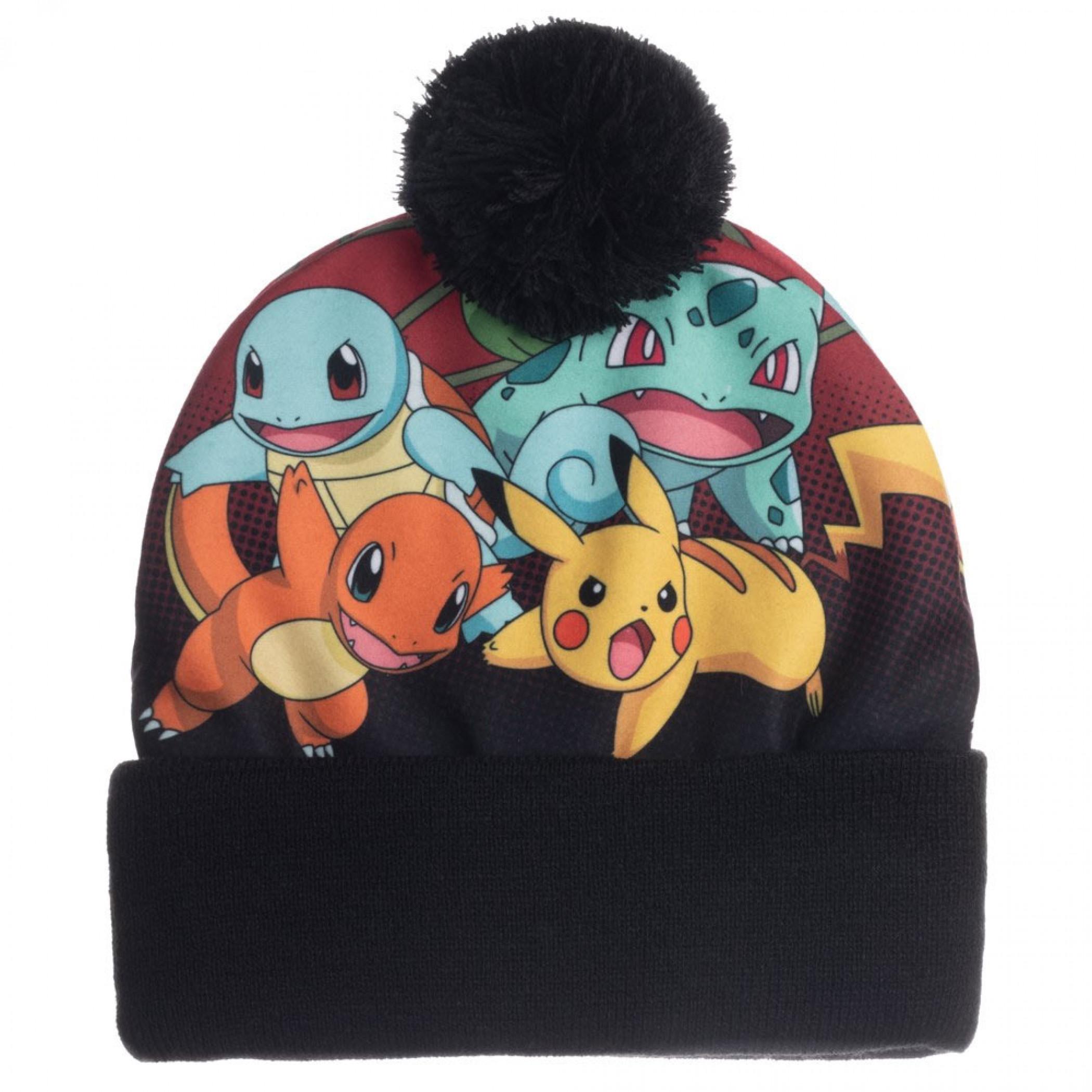 Pokemon Sublimated Crown Beanie