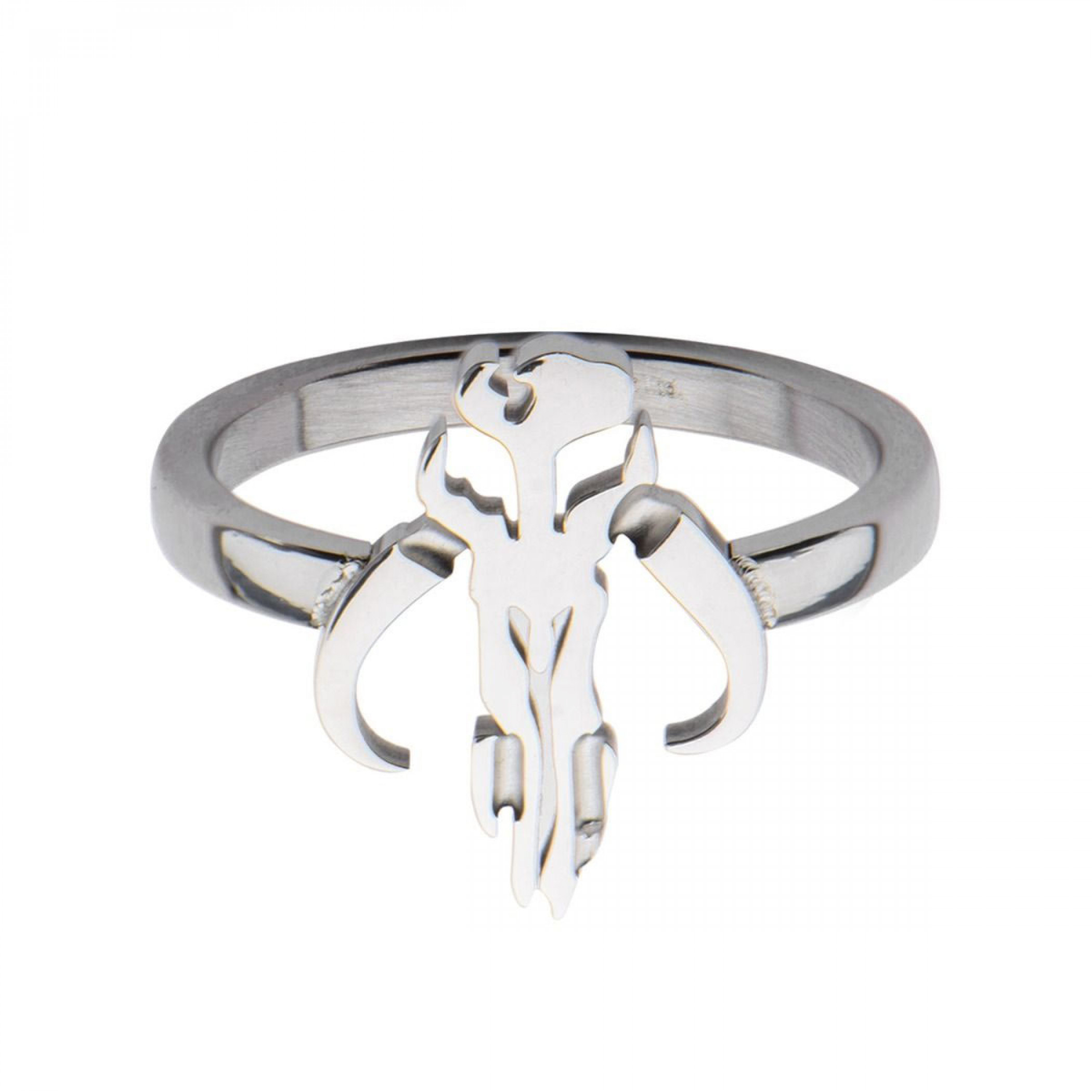 Star Wars Mandalorian Symbol Cut Out Petite Ring