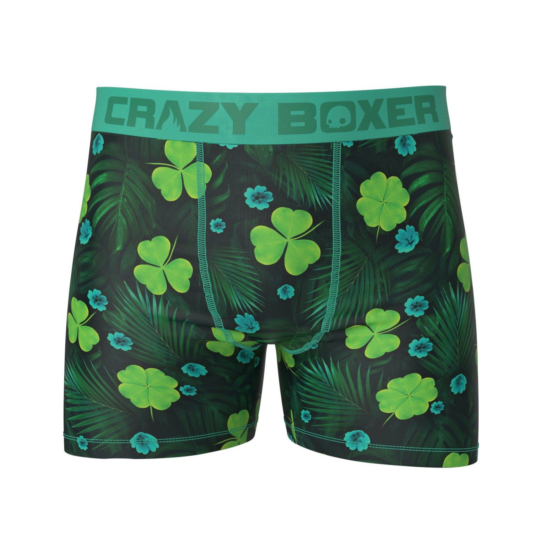 St. Patrick's Day Shamrocks Boxer Briefs