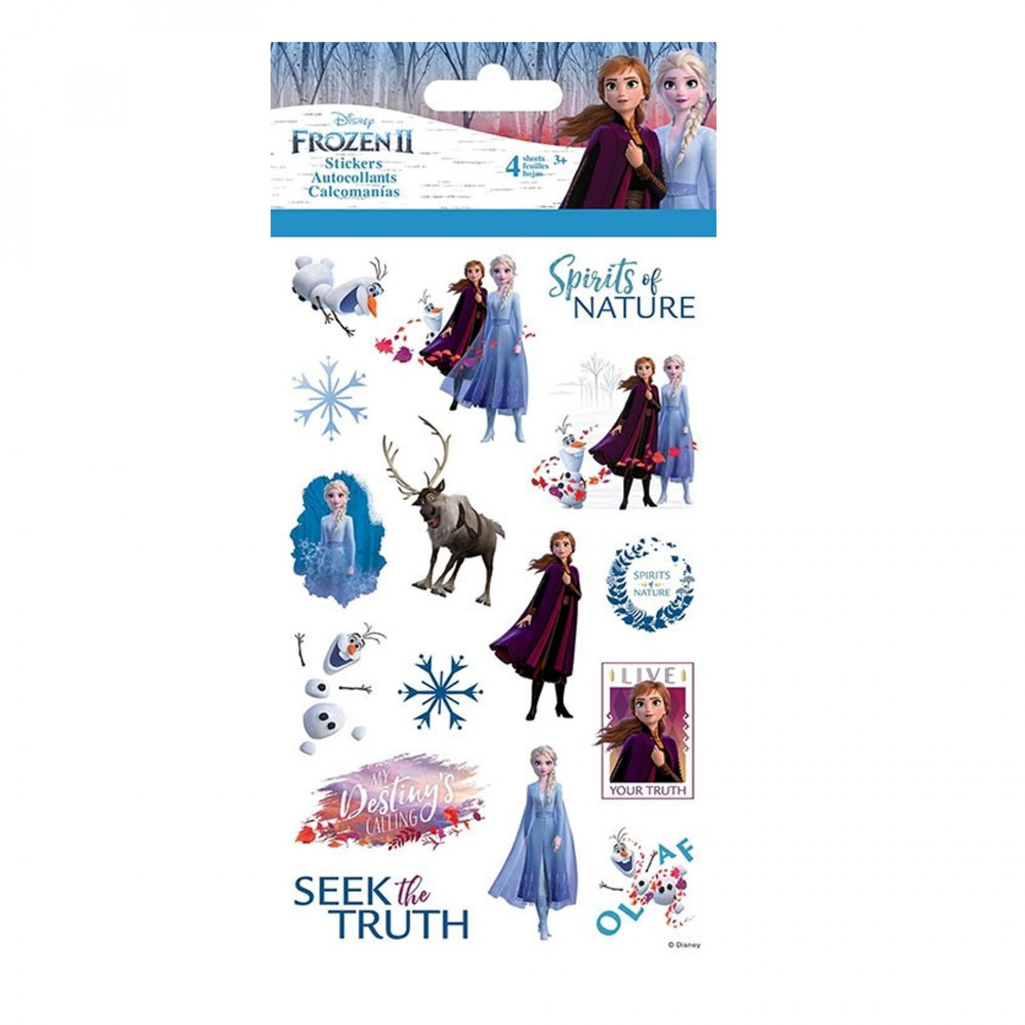 Frozen 2 Movie Sticker Set