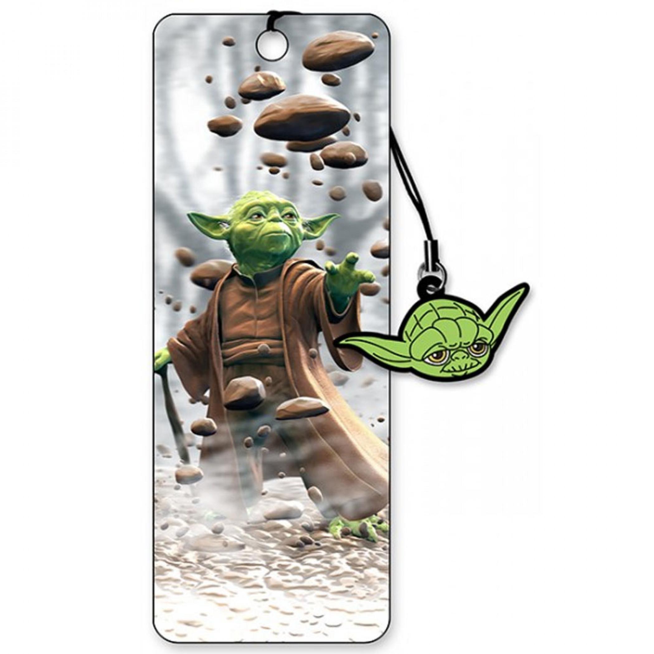 Yoda 3D Moving Image Bookmark