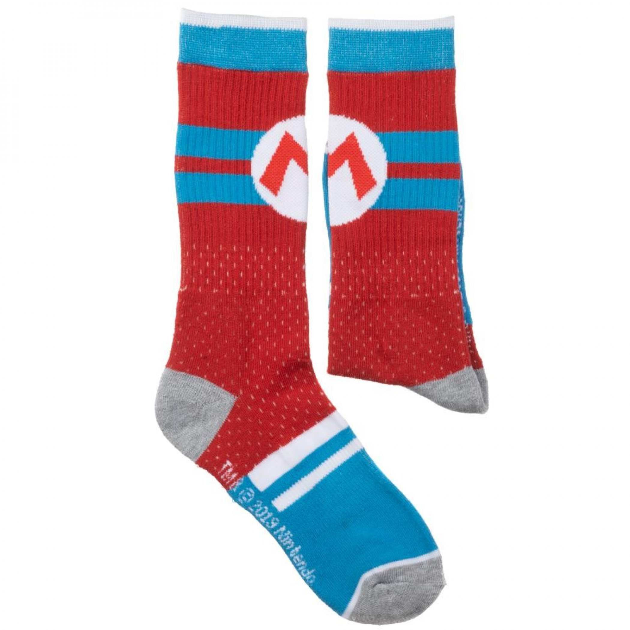 Super Mario Bros Mesh Athletic Crew Socks