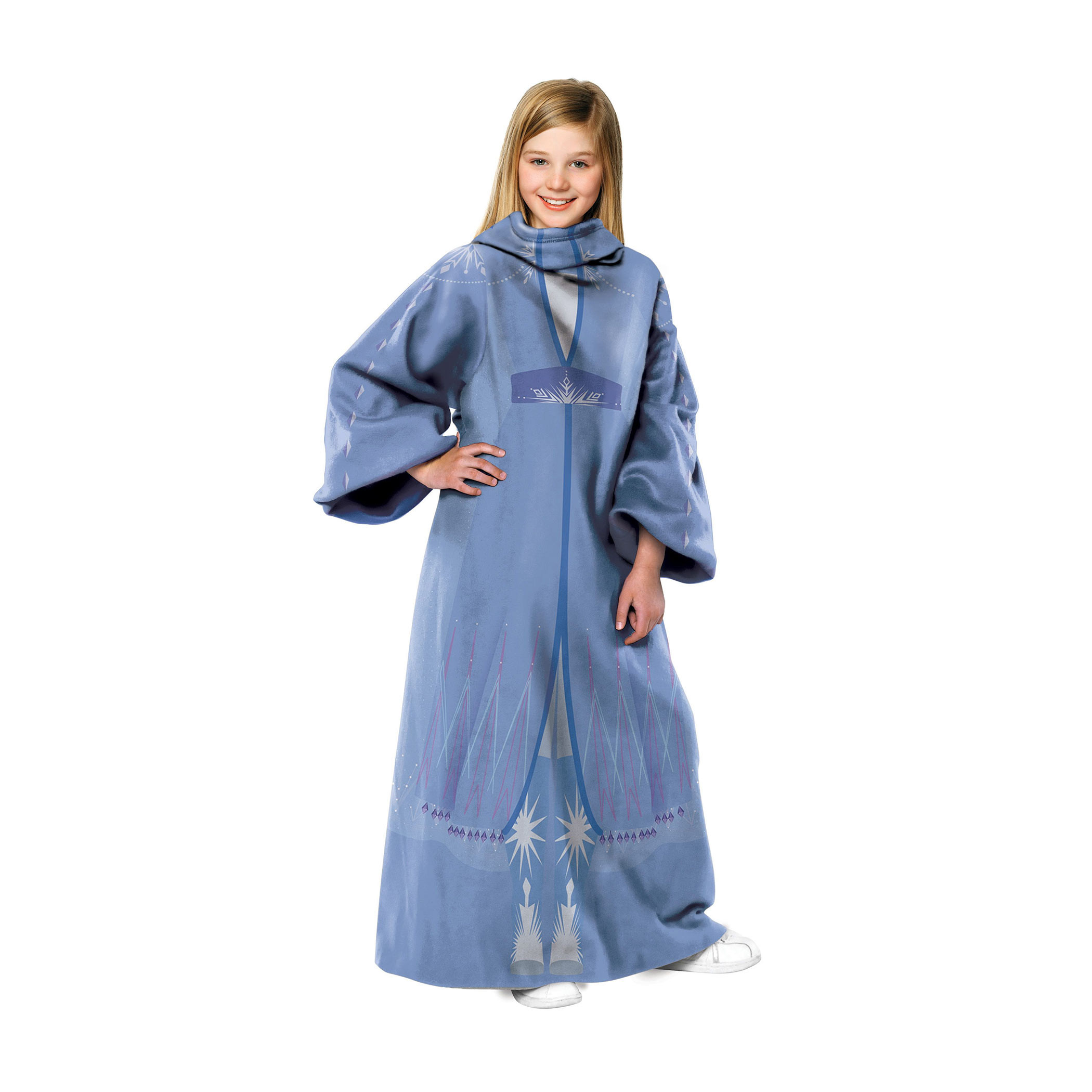 Frozen 2 Elsa Youth Throw Blanket With Sleeves