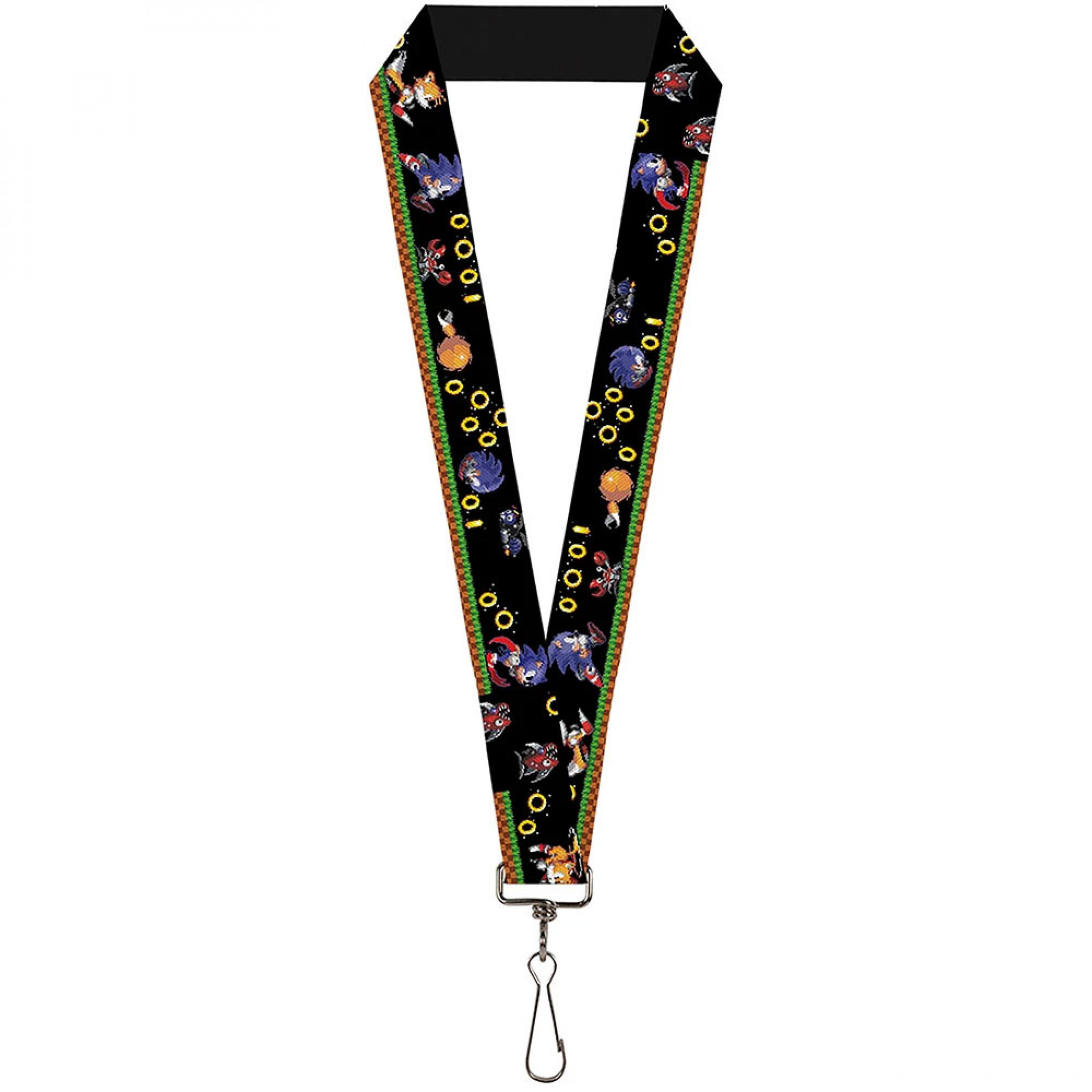 Sonic and Tails Lanyard