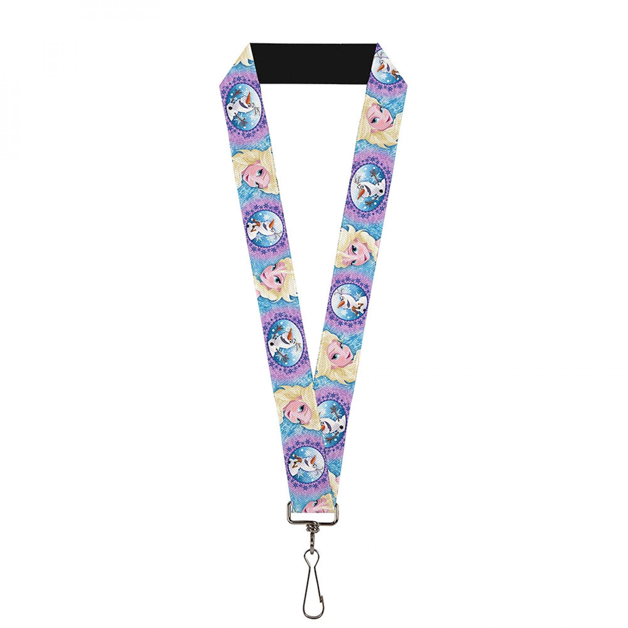 Frozen 2 Elsa and Olaf Lanyard