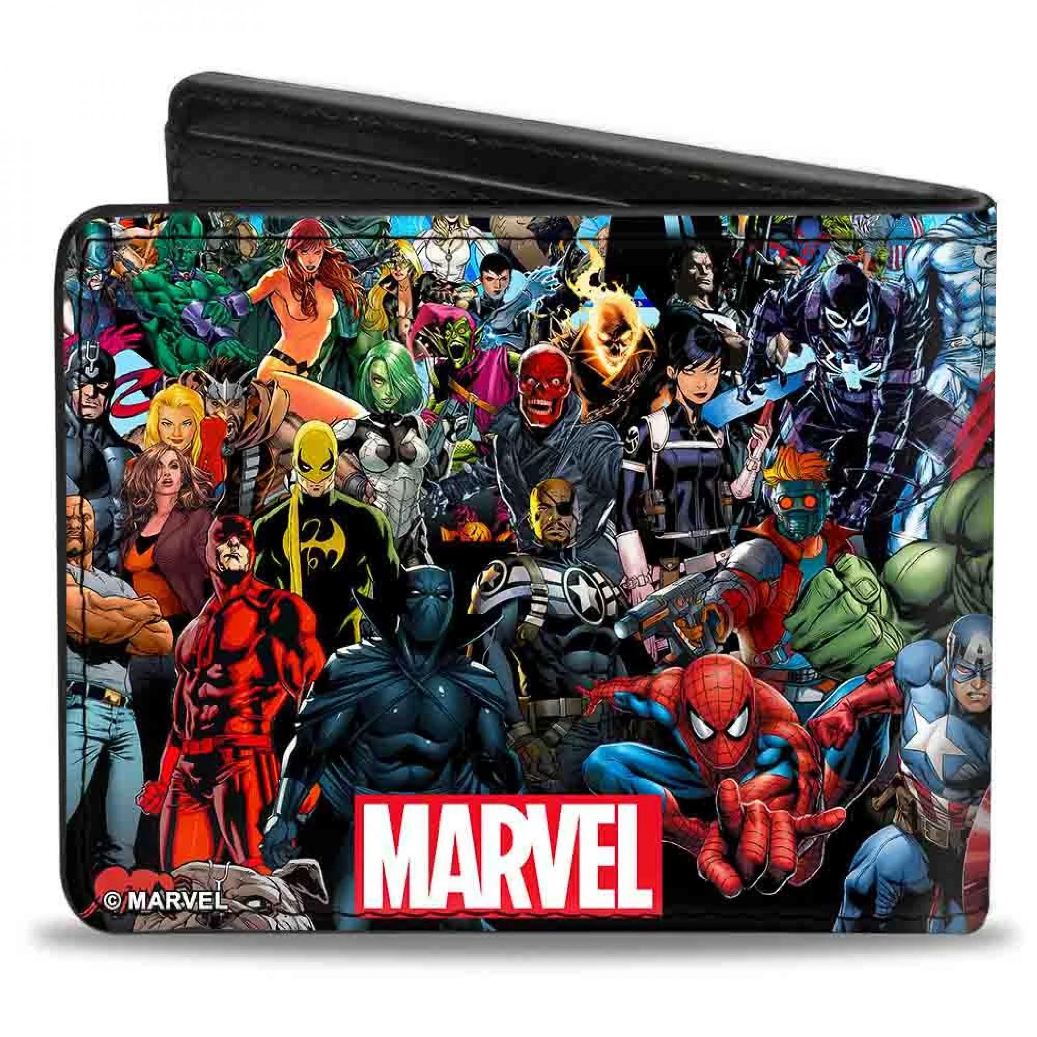 Marvel Universe Bifold Wallet