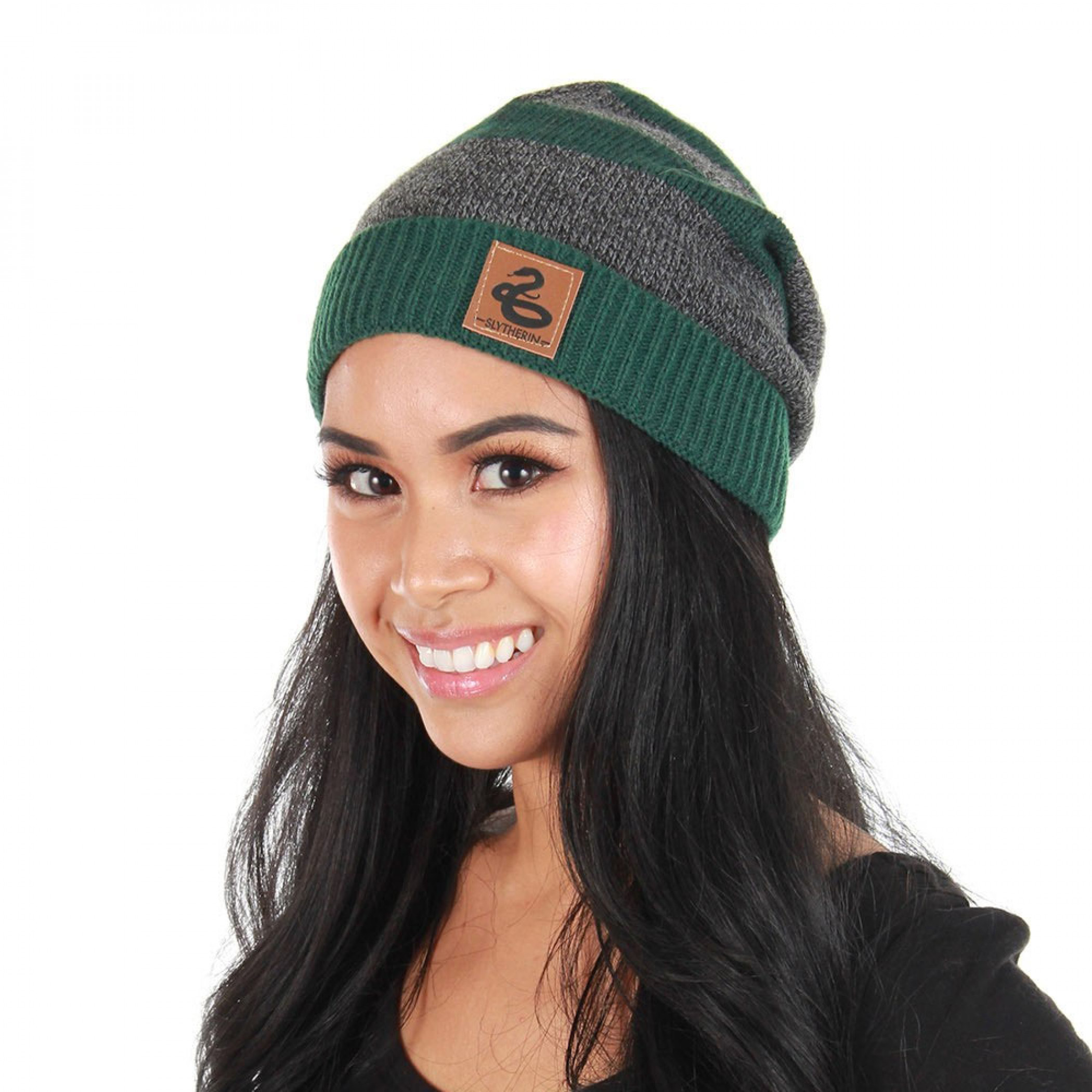 Harry Potter Slytherin Knit Beanie
