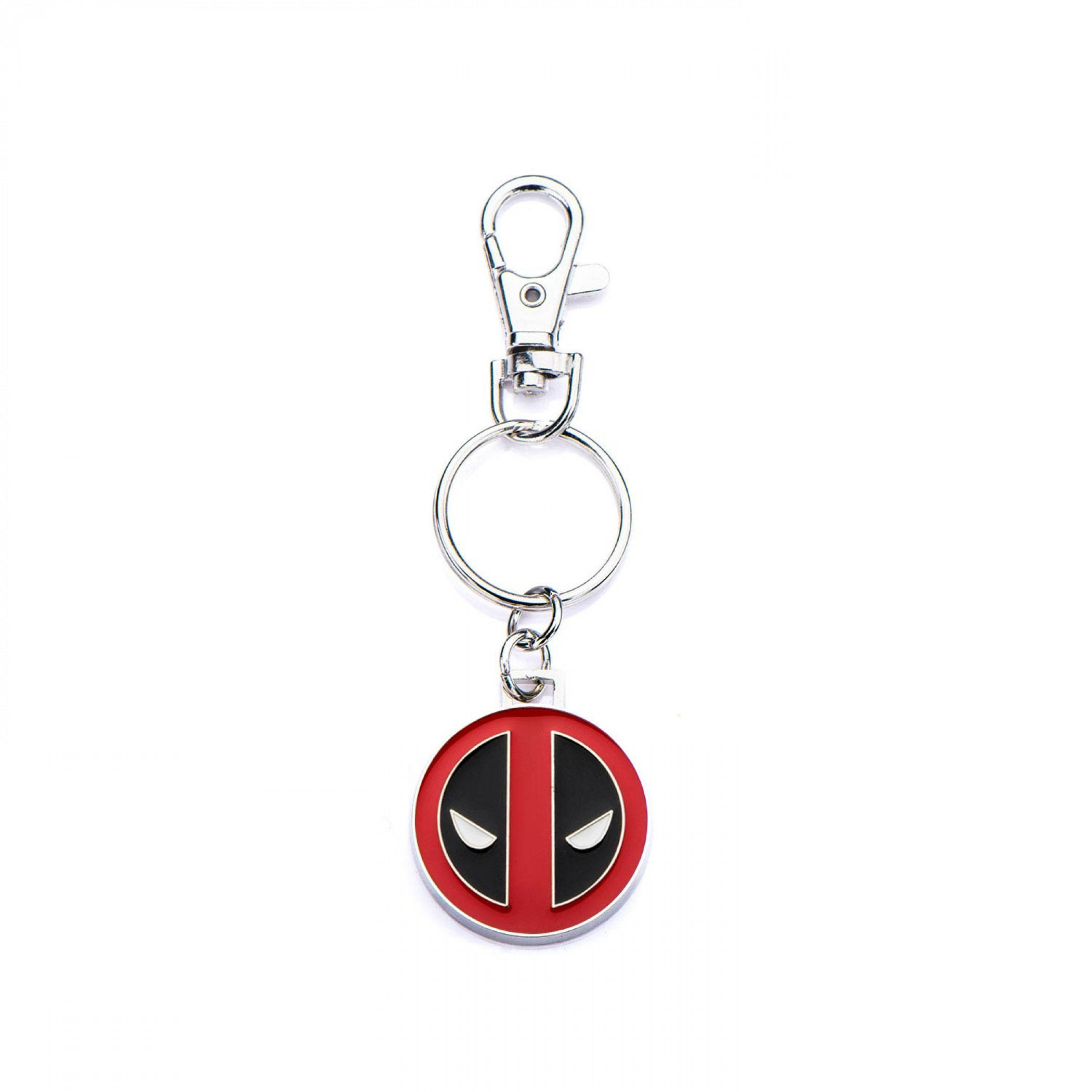 Deadpool Face Stainless Steel Key Chain