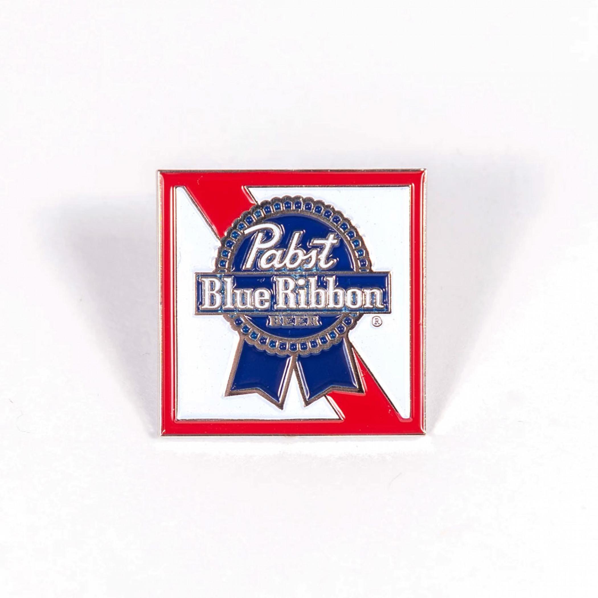 Pabst Blue Ribbon Logo Enamel Pin