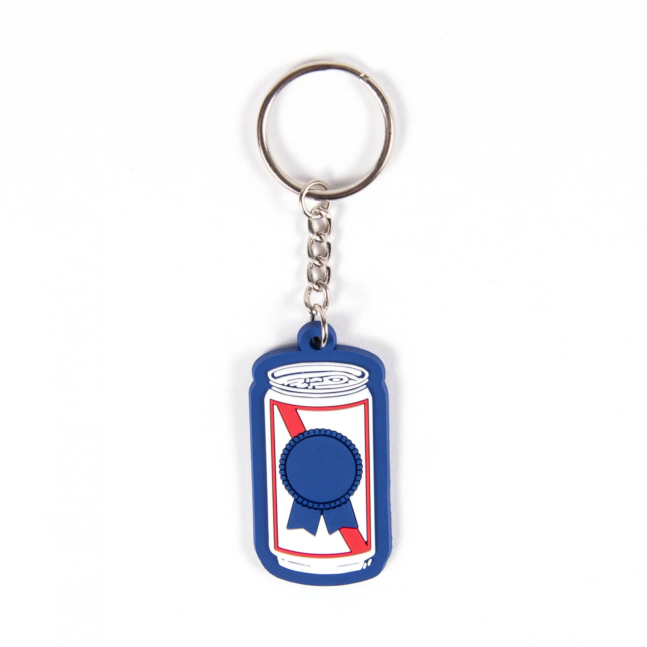 Pabst Blue Ribbon Beer Can Keychain