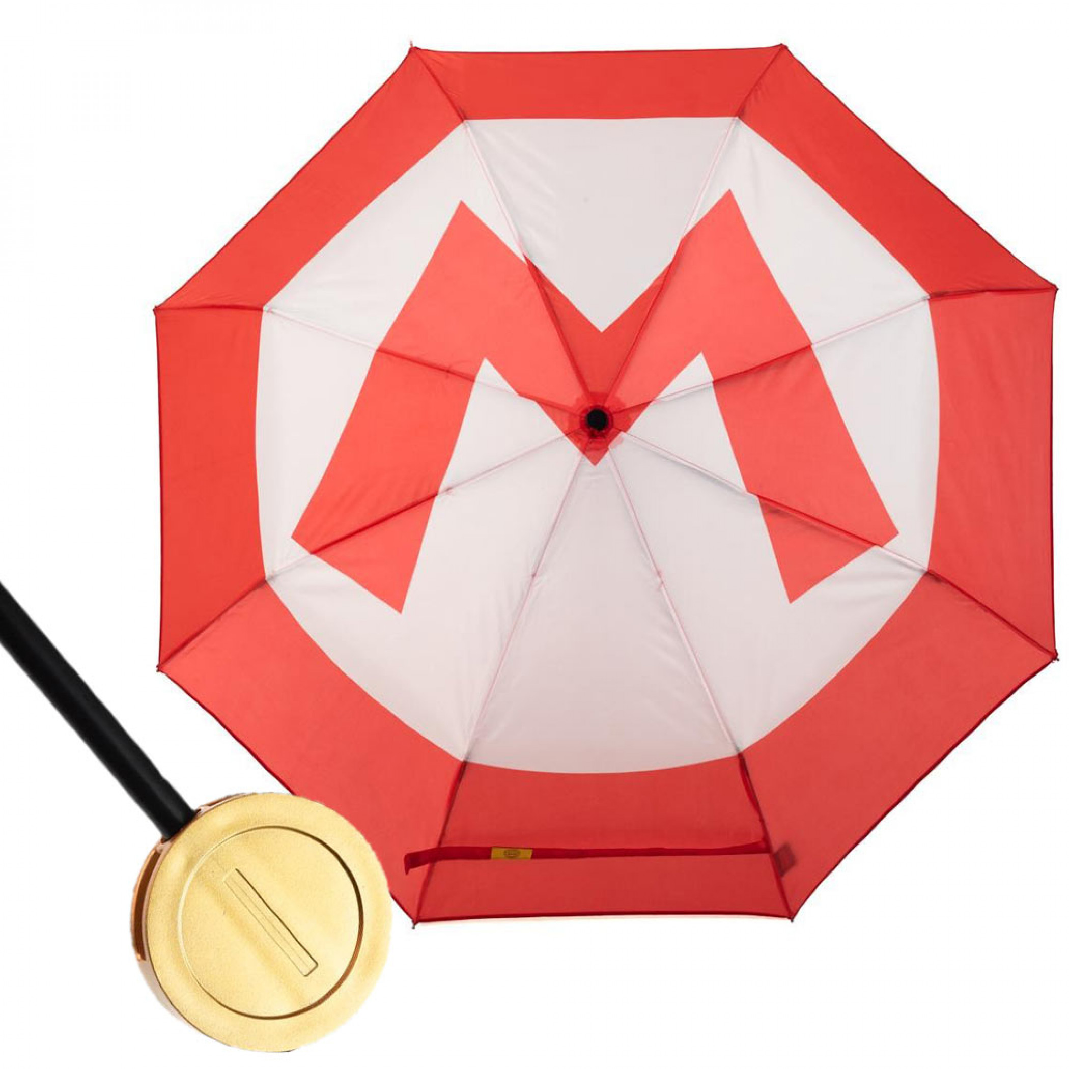 Super Mario Coin Handle Umbrella