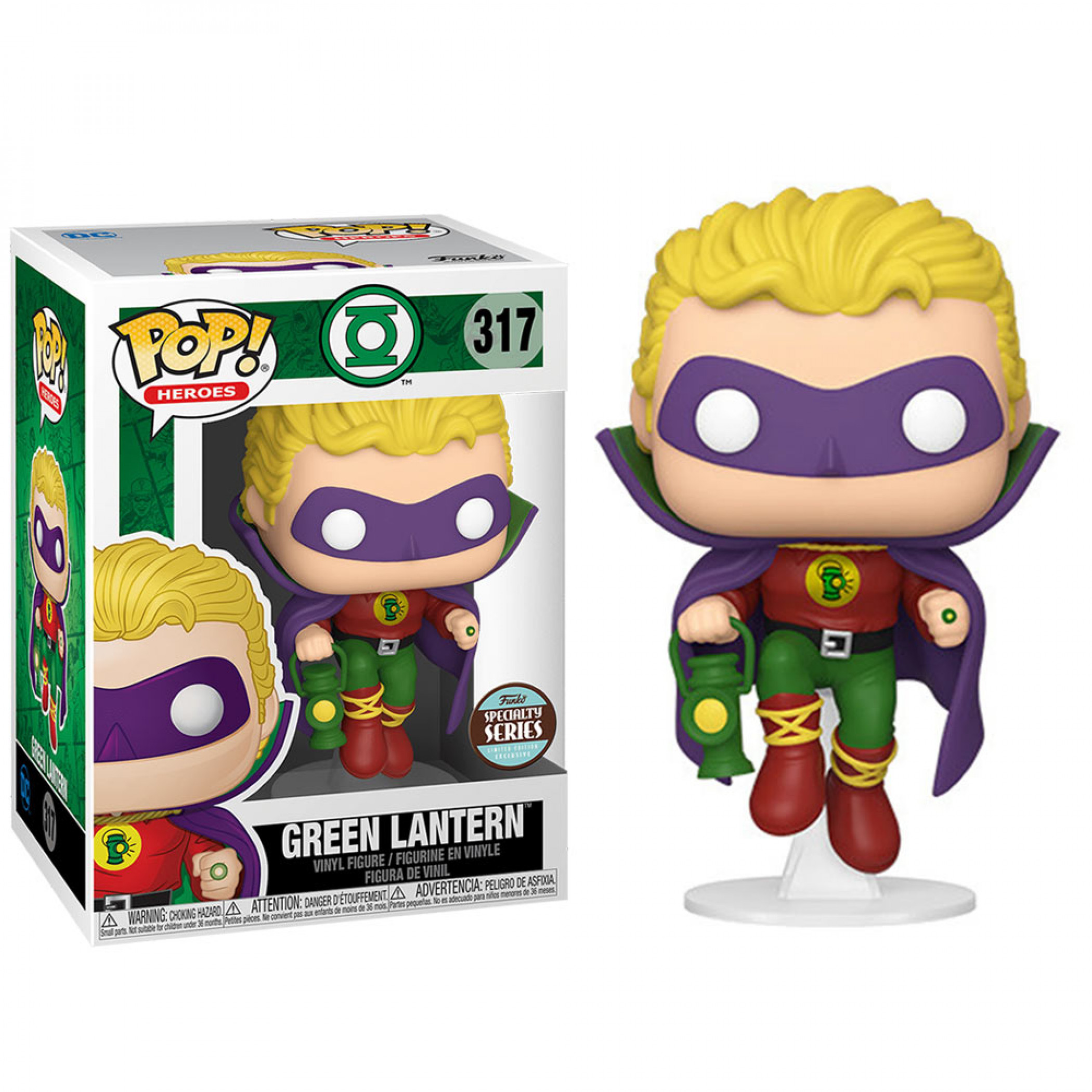 DC Comics Alan Scott as Green Lantern Specialty Series Funko Pop!