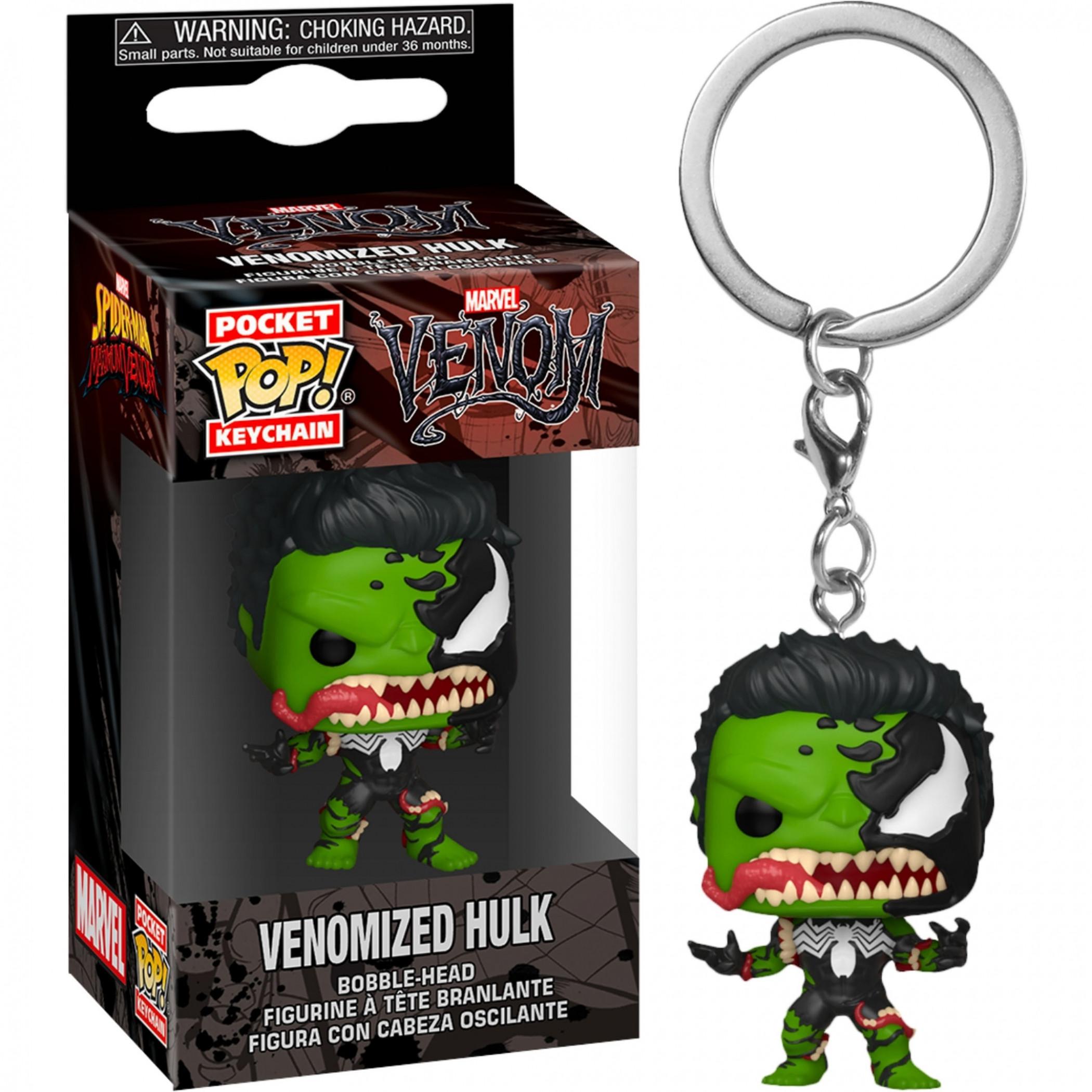 Venom and Hulk Mashup Funko Pop! Keychain