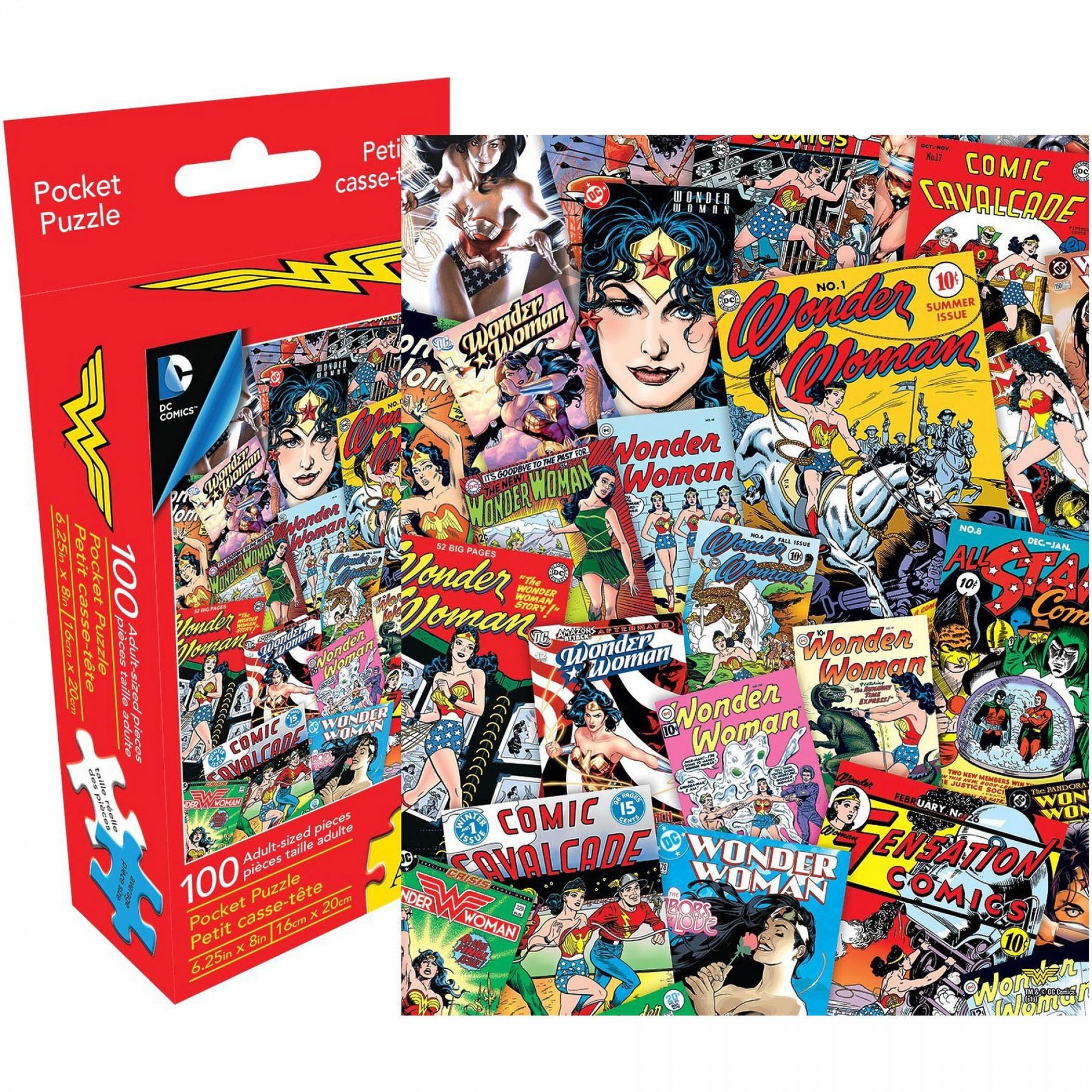 Wonder Woman 100pc Adult Pocket Puzzle