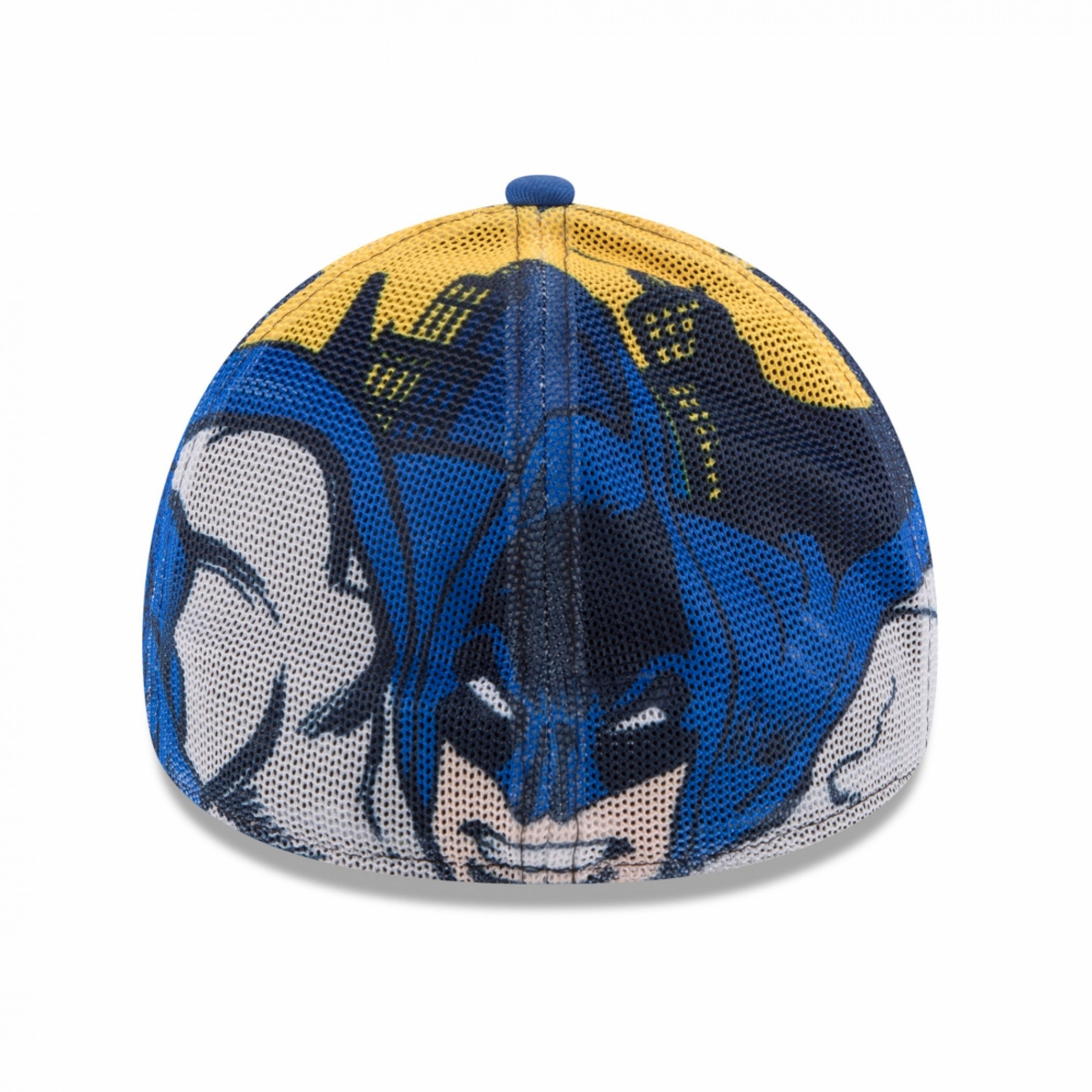 Batman Symbol with Character Wrap New Era 39Thirty Fitted Hat