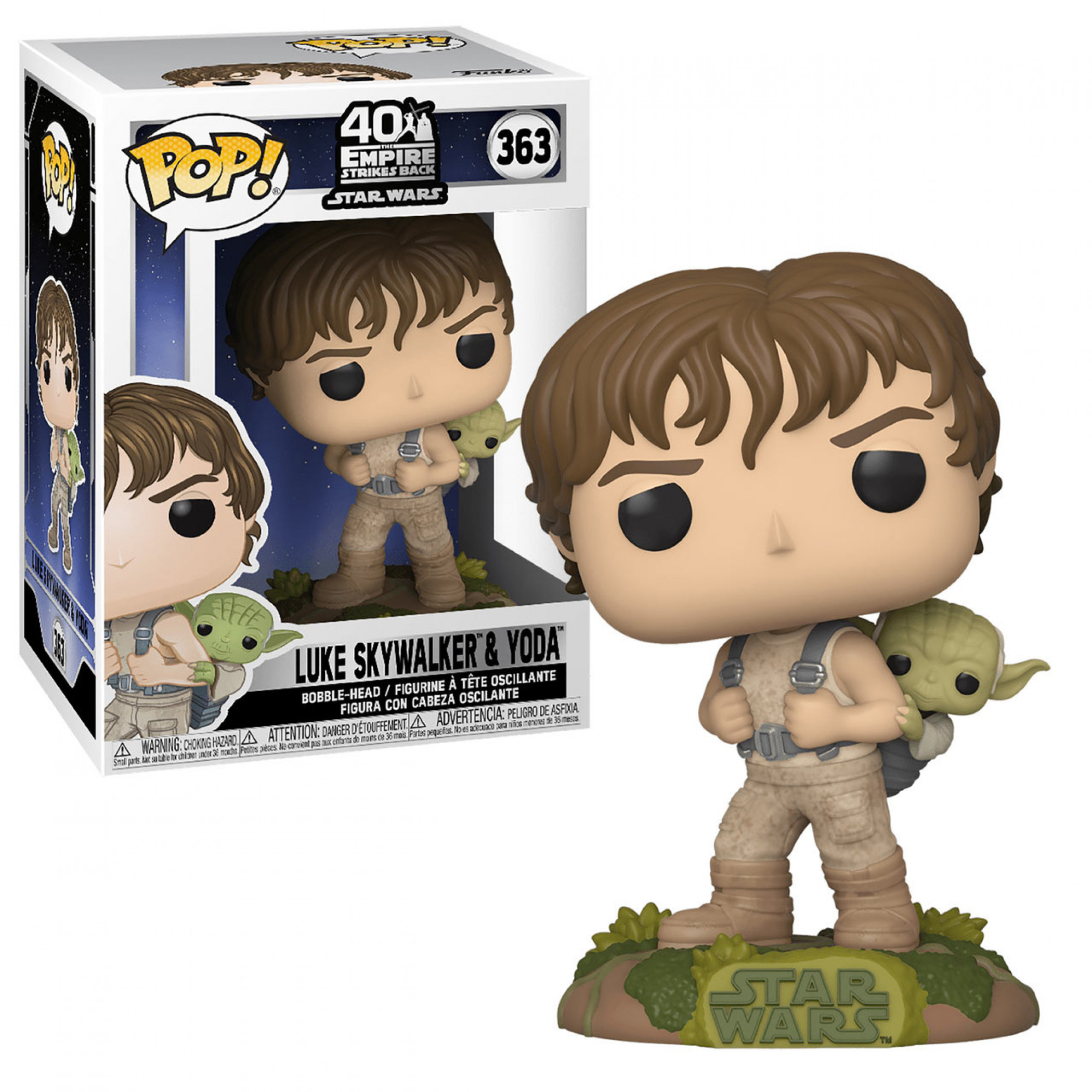 Star Wars - Training Luke with Yoda Funko Pop! Figure