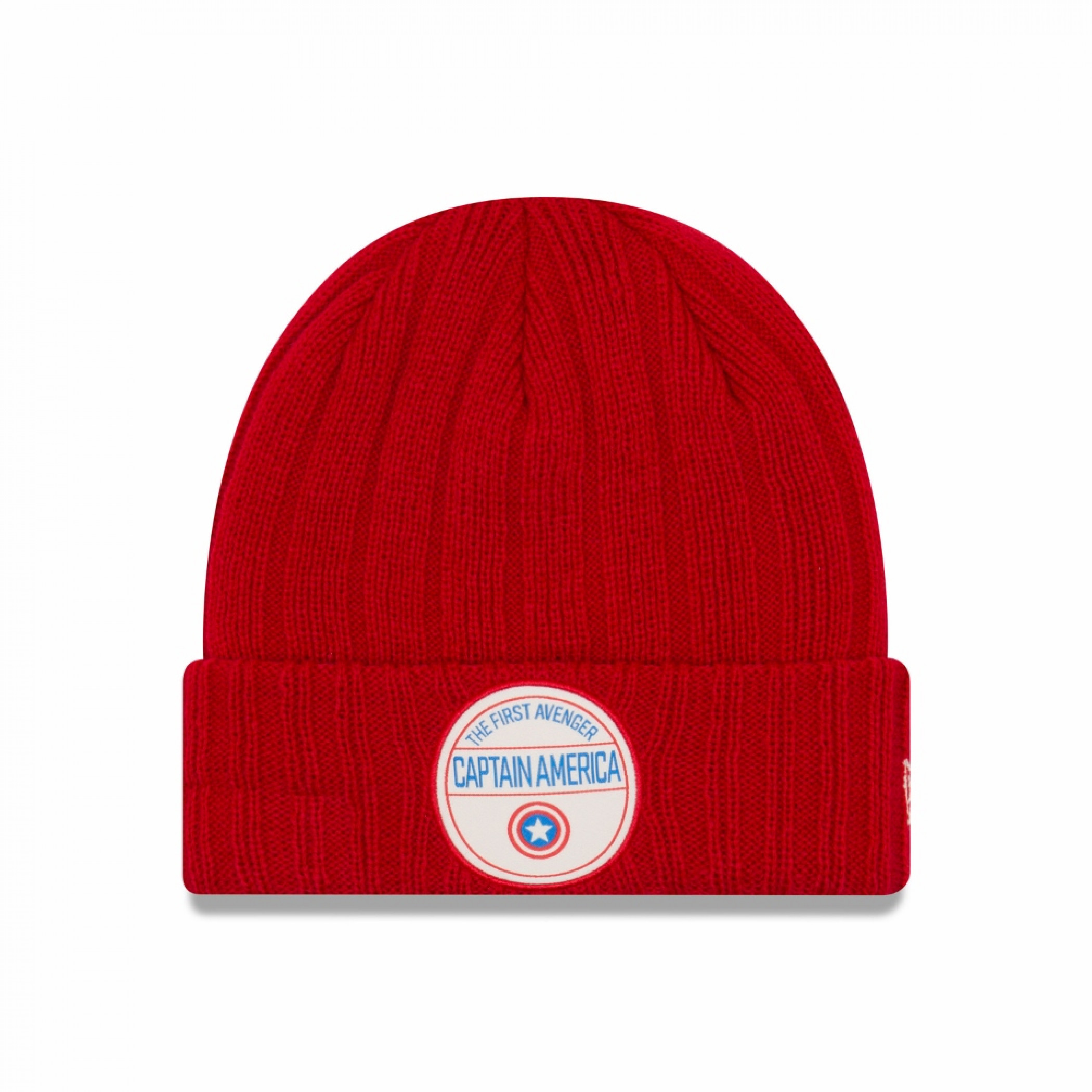 Captain America The First Avenger Retro Ribbed Cuff Beanie