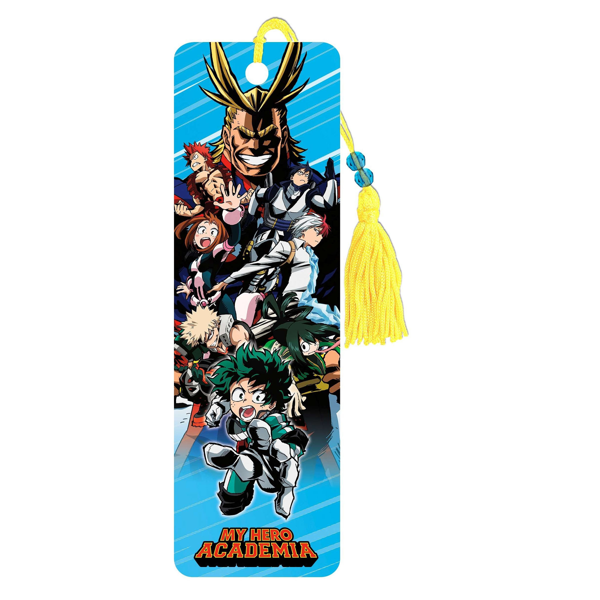 My Hero Academia Characters Bookmark