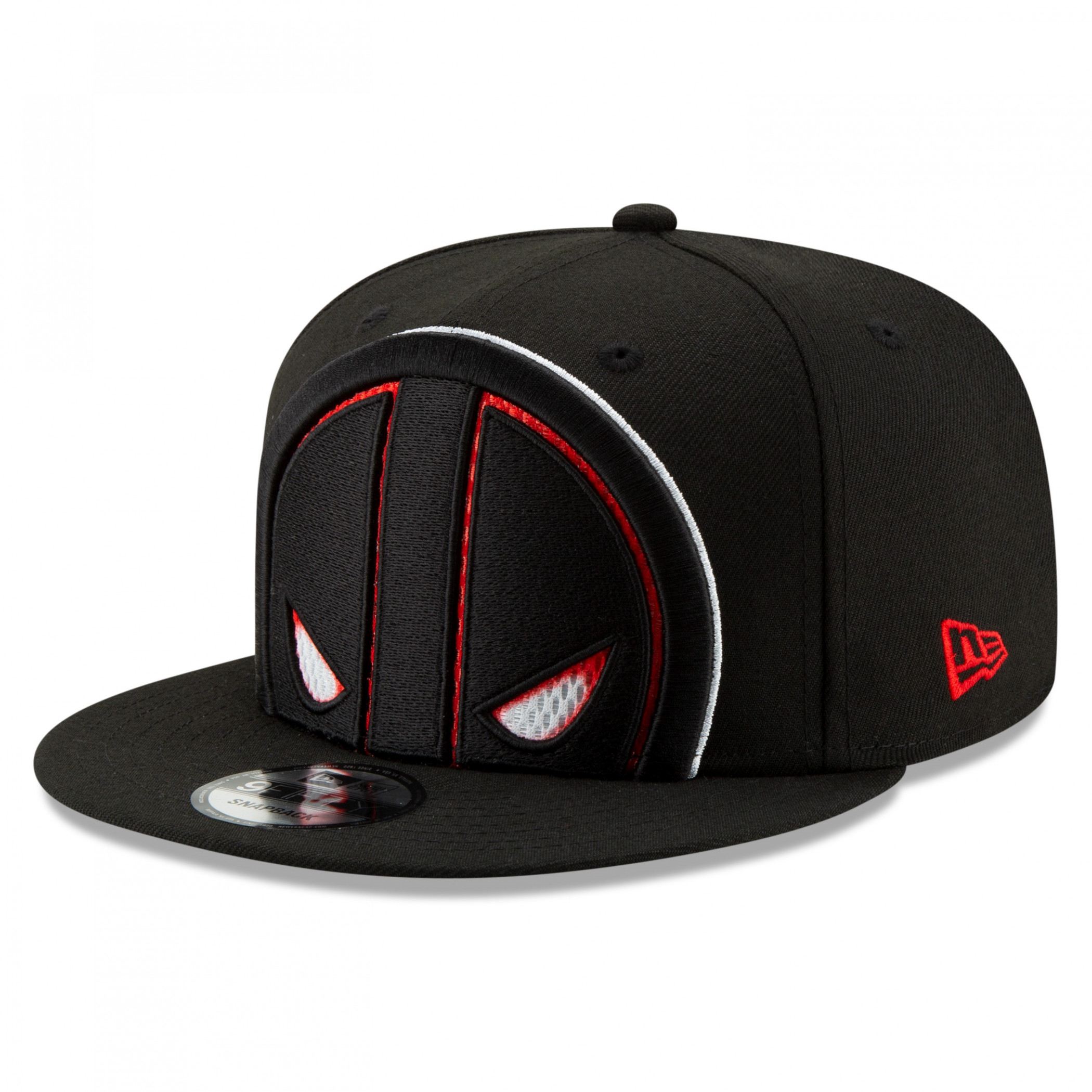 Deadpool Symbol Color Trim New Era 9Fifty Adjustable Youth Hat