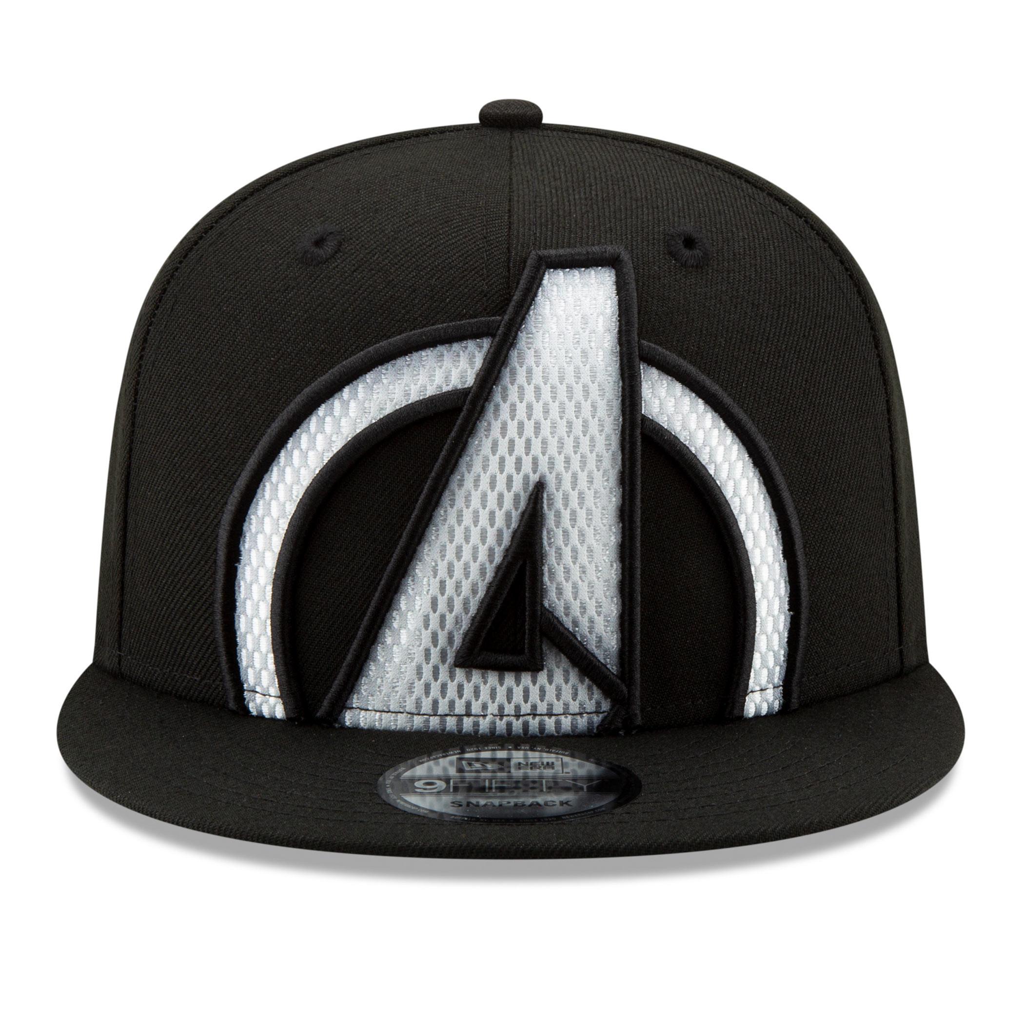 Avengers Symbol Color Trim New Era 9Fifty Adjustable Hat