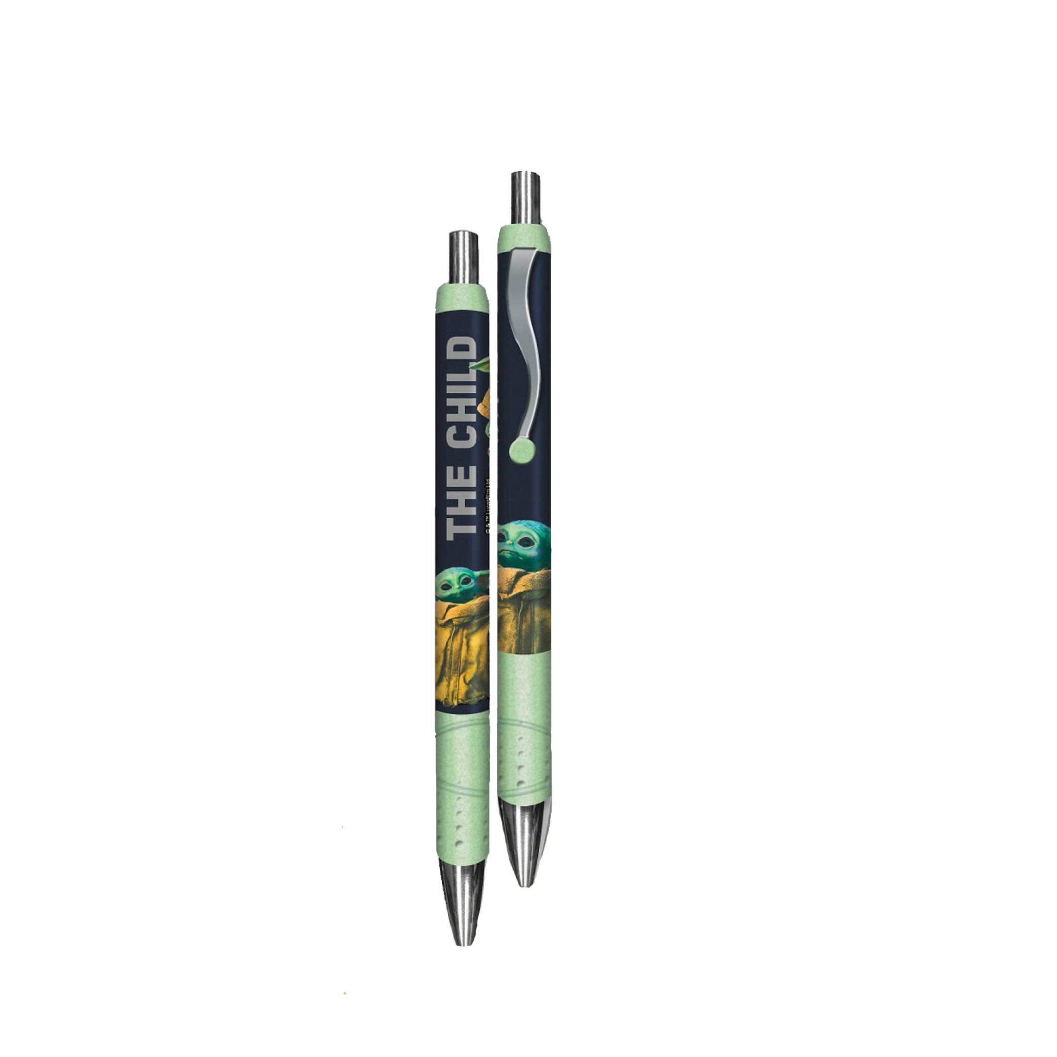 The Mandalorian The Child 2-Pack Pens