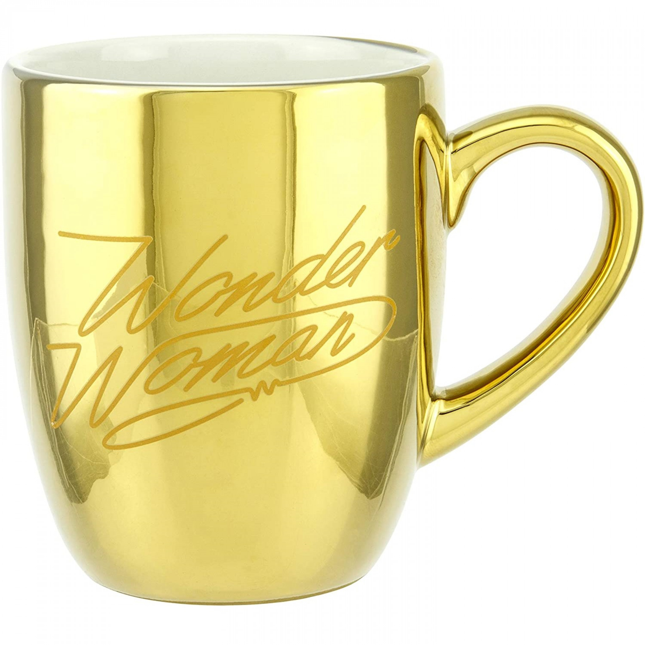 Wonder Woman Gold 1984 Logo Mug