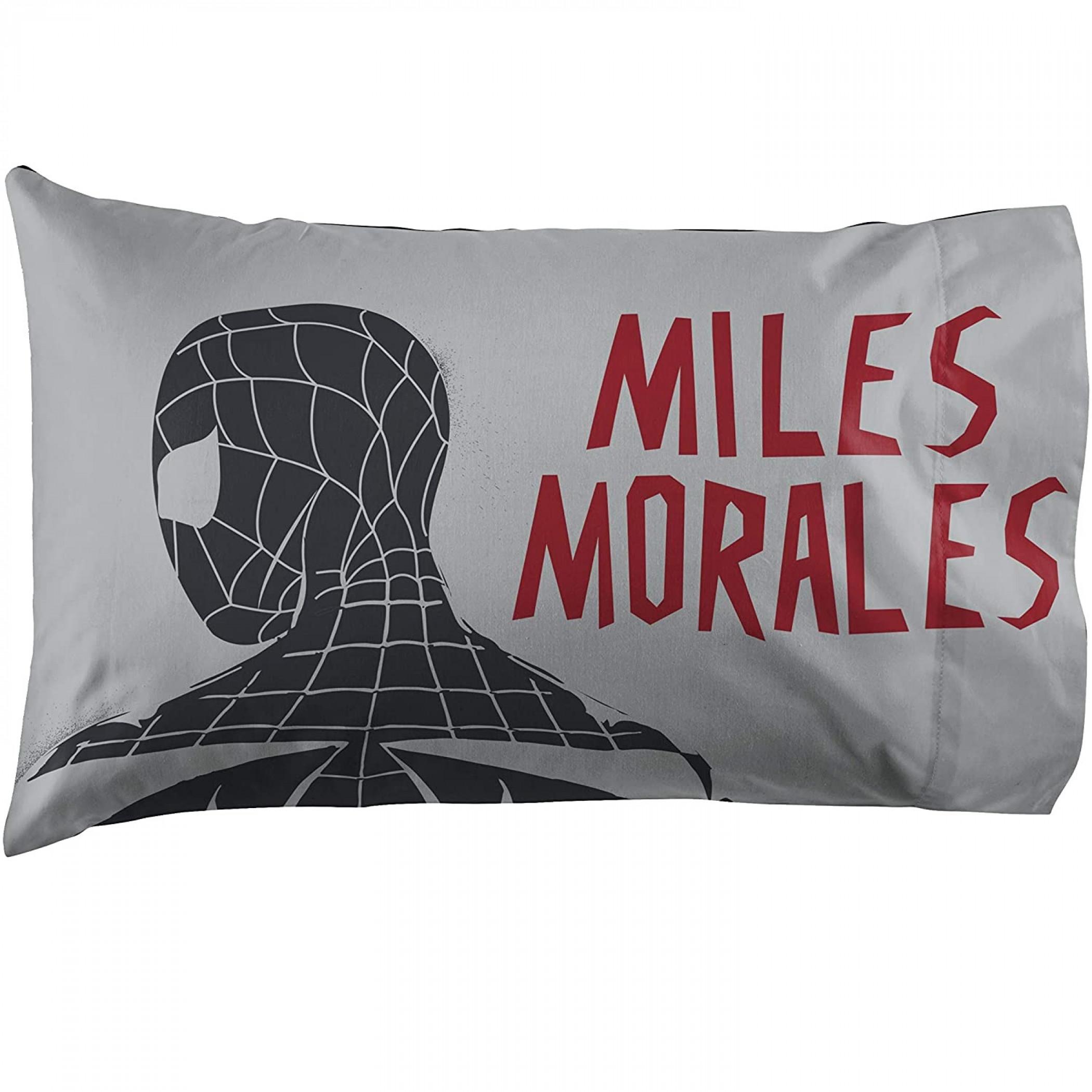 Marvel Spider-man Miles Morales New Kid 3-Piece Full Sheet Set