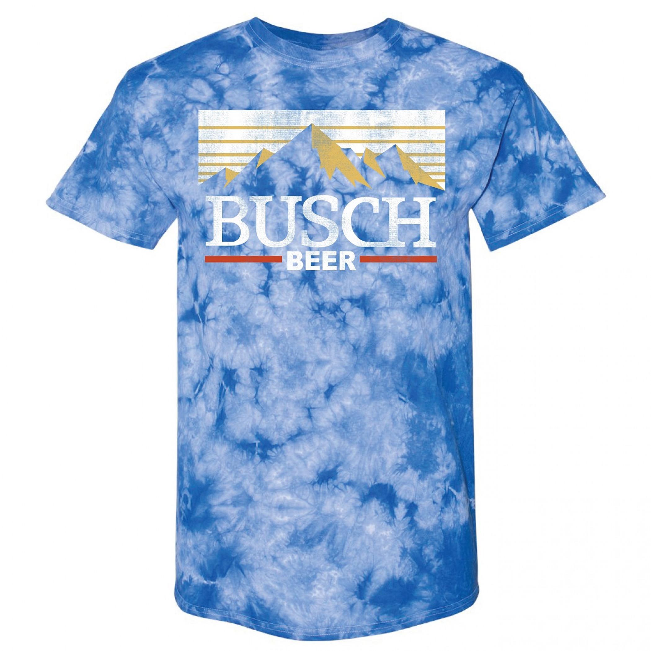 Busch Mountain Logo Tie Dye T-Shirt