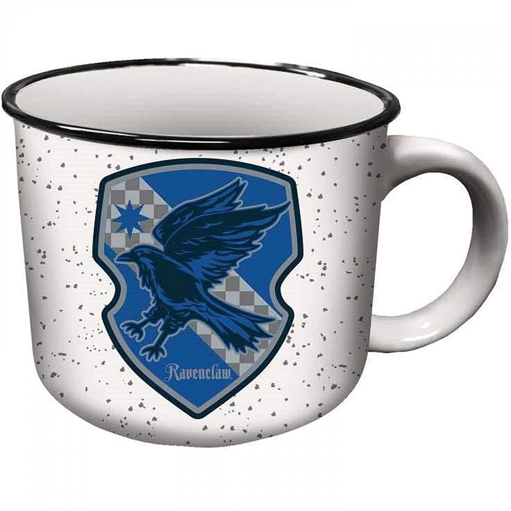 Harry Potter Ravenclaw House Crest Ceramic Camper Mug