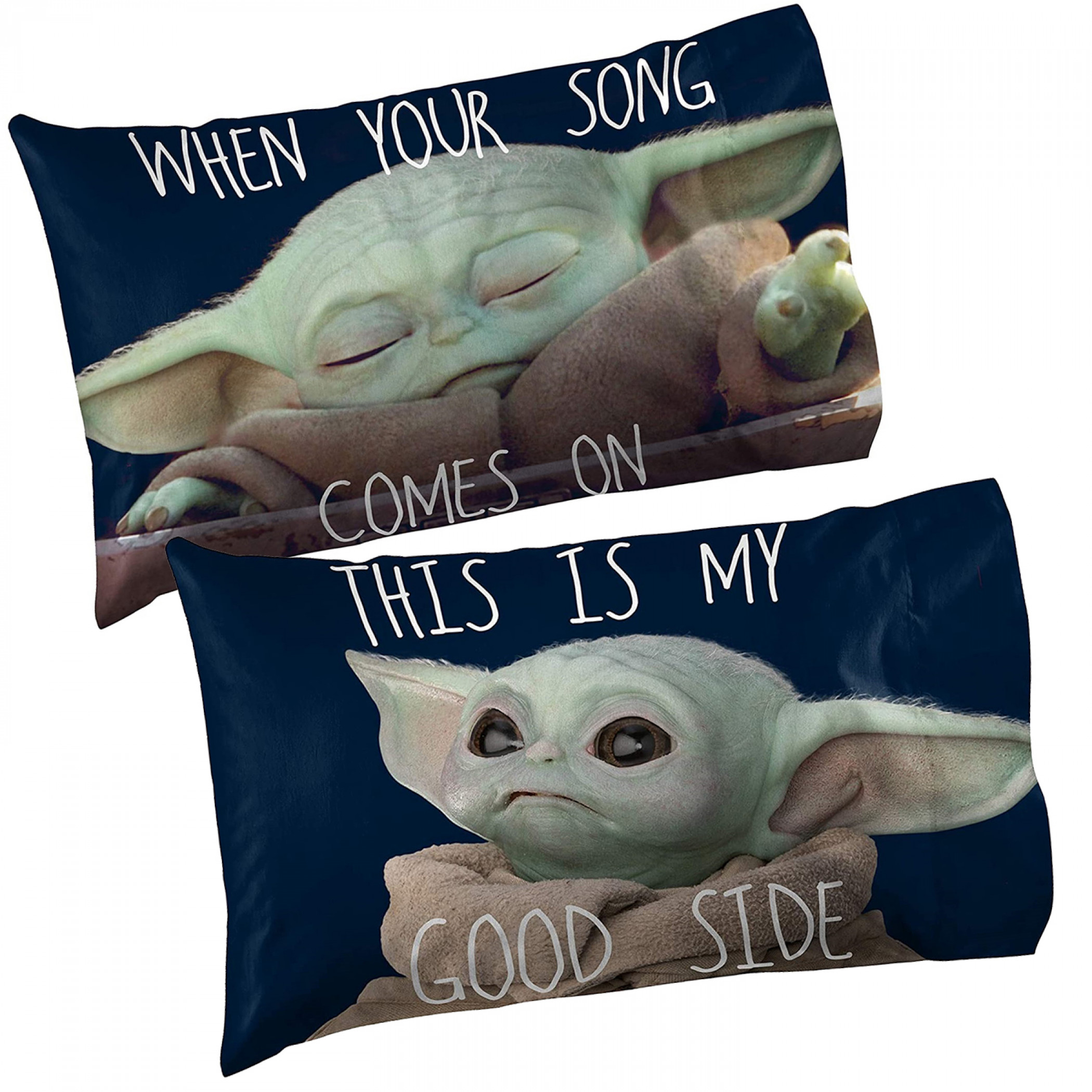 Star Wars The Mandalorian The Child Memes 1-Pack Reversible Pillowcase