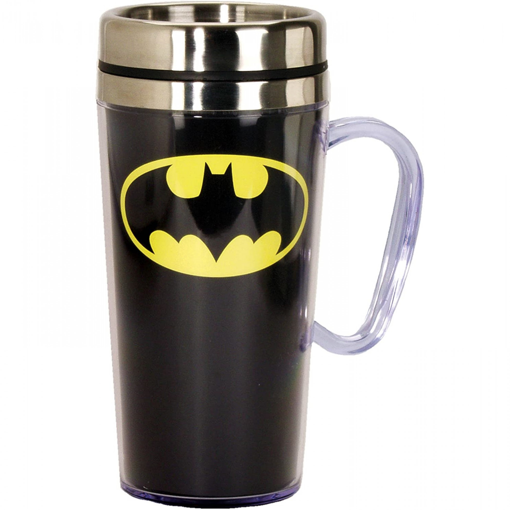 Batman Symbol Travel Mug