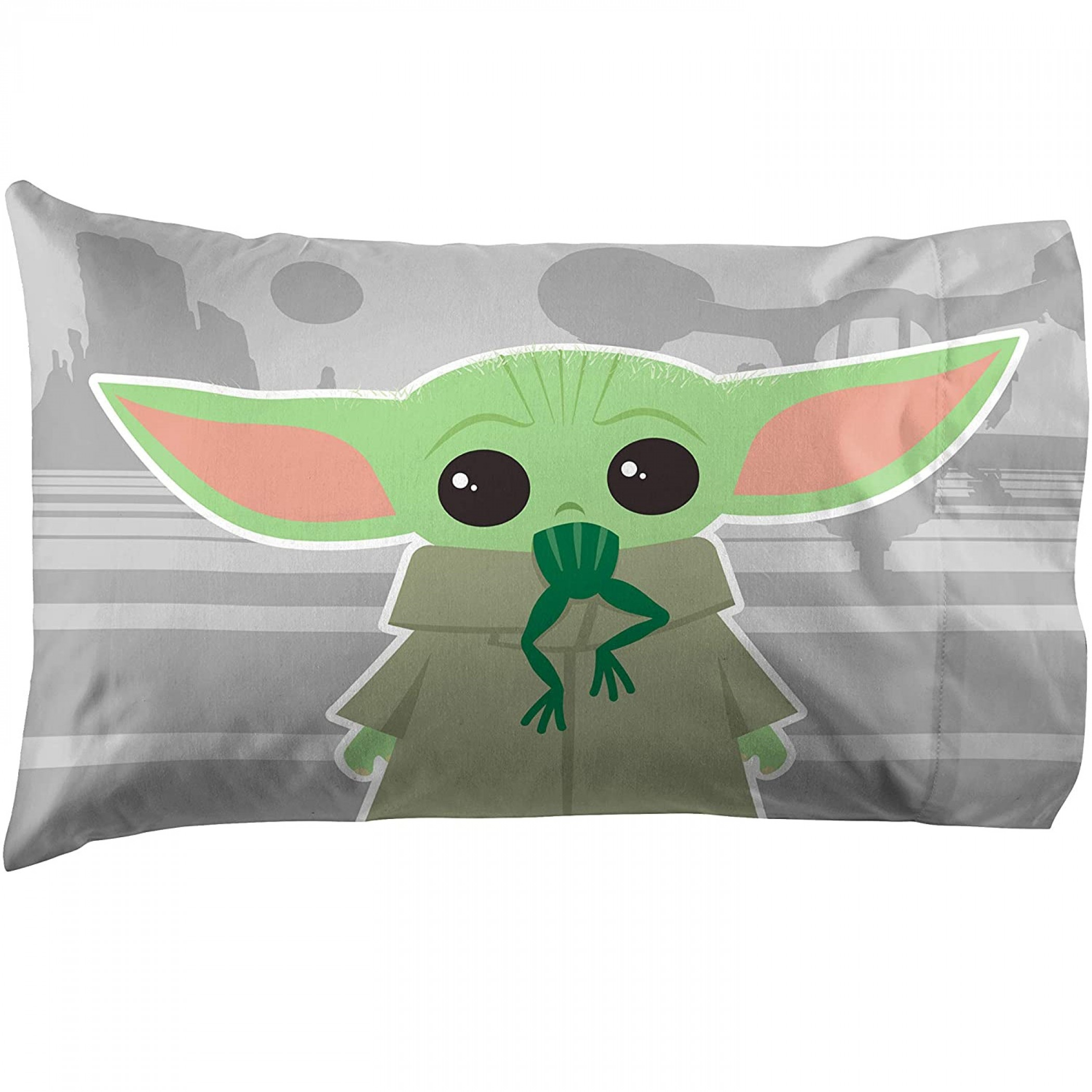 Star Wars The Mandalorian The Cutest Bounty Reversible Pillowcase