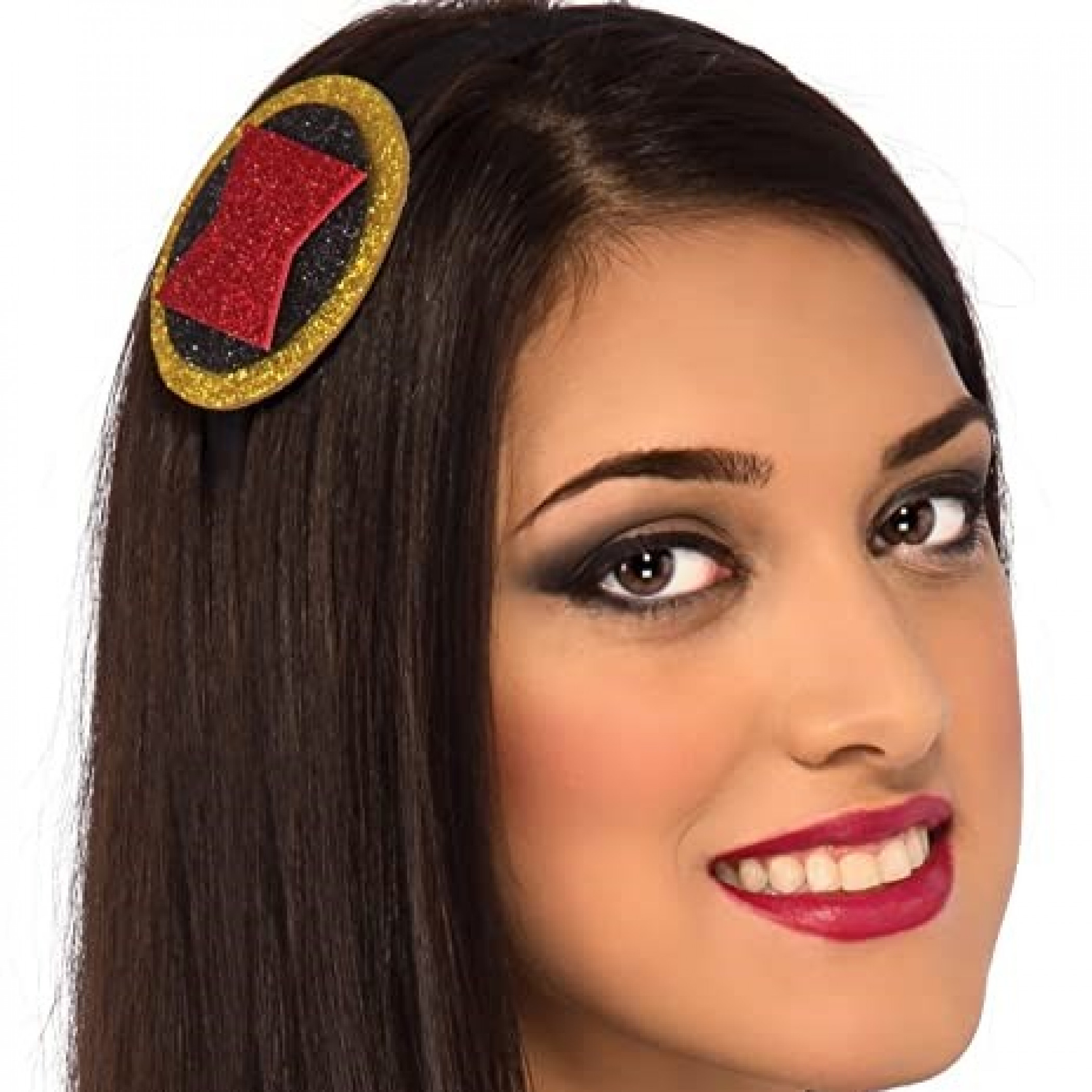 Black Widow Symbol Headband