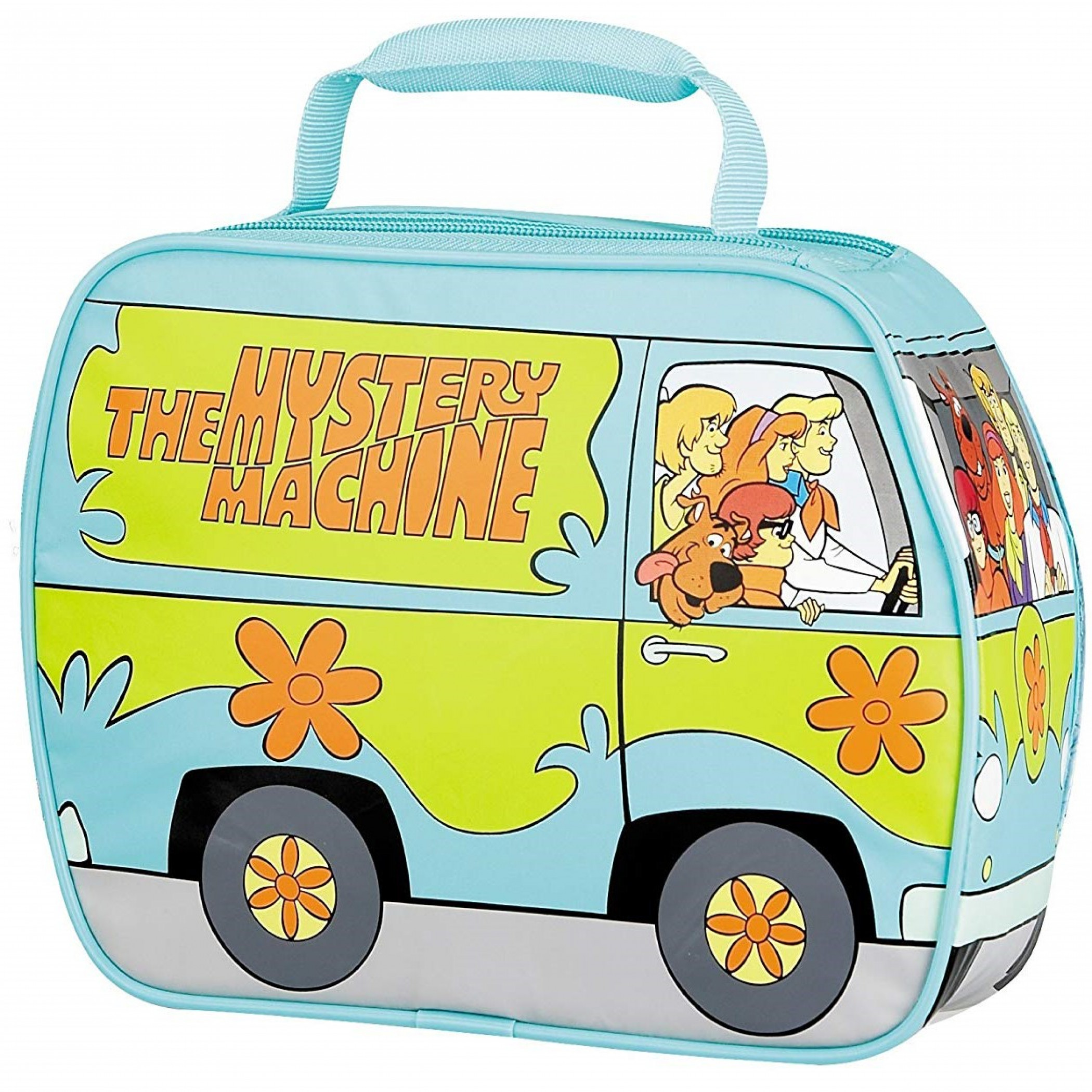Scooby Doo and the Mystery Machine Thermos Lunch Bag