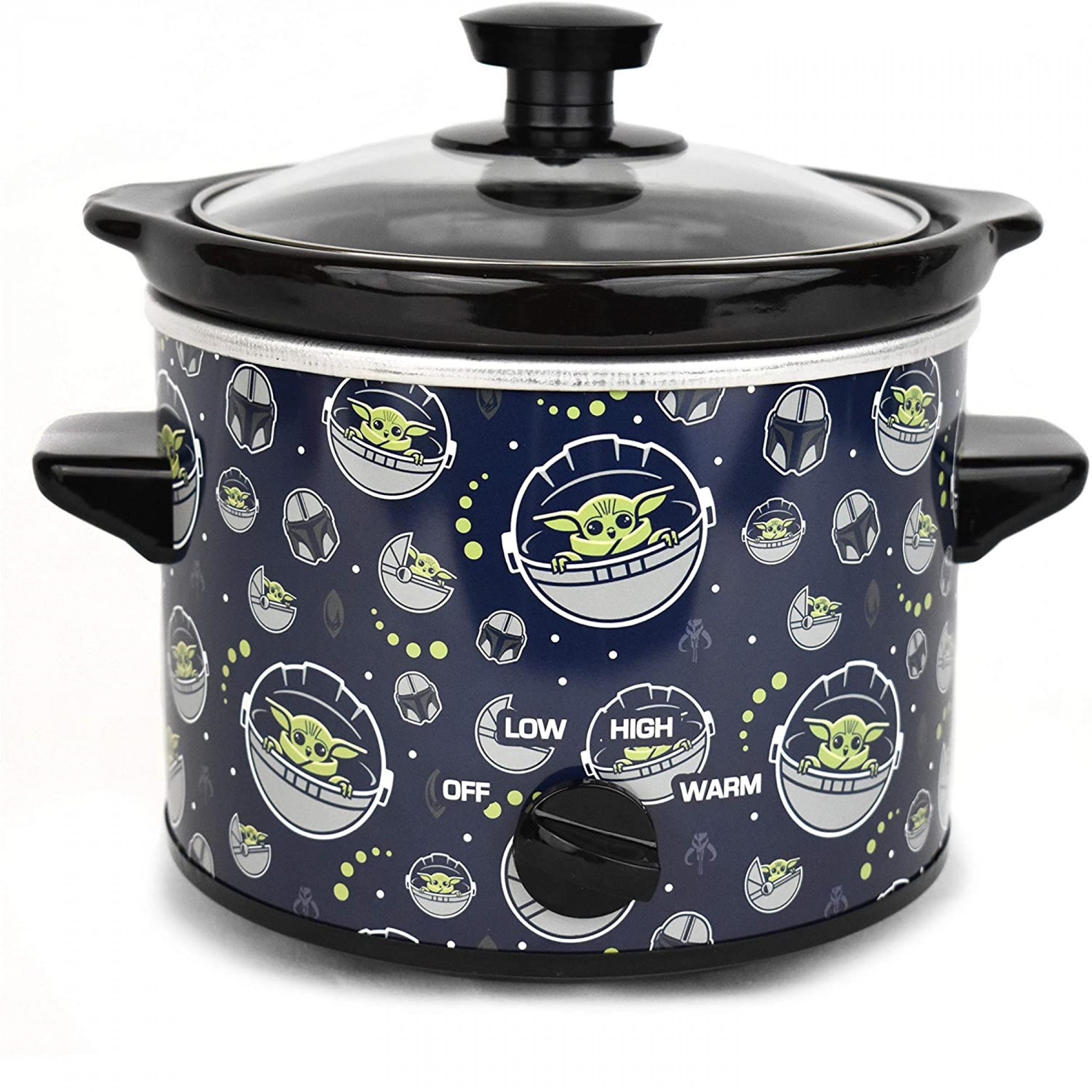 Star Wars The Mandalorian The Child Grogu All Over 2-Quart Slow Cooker