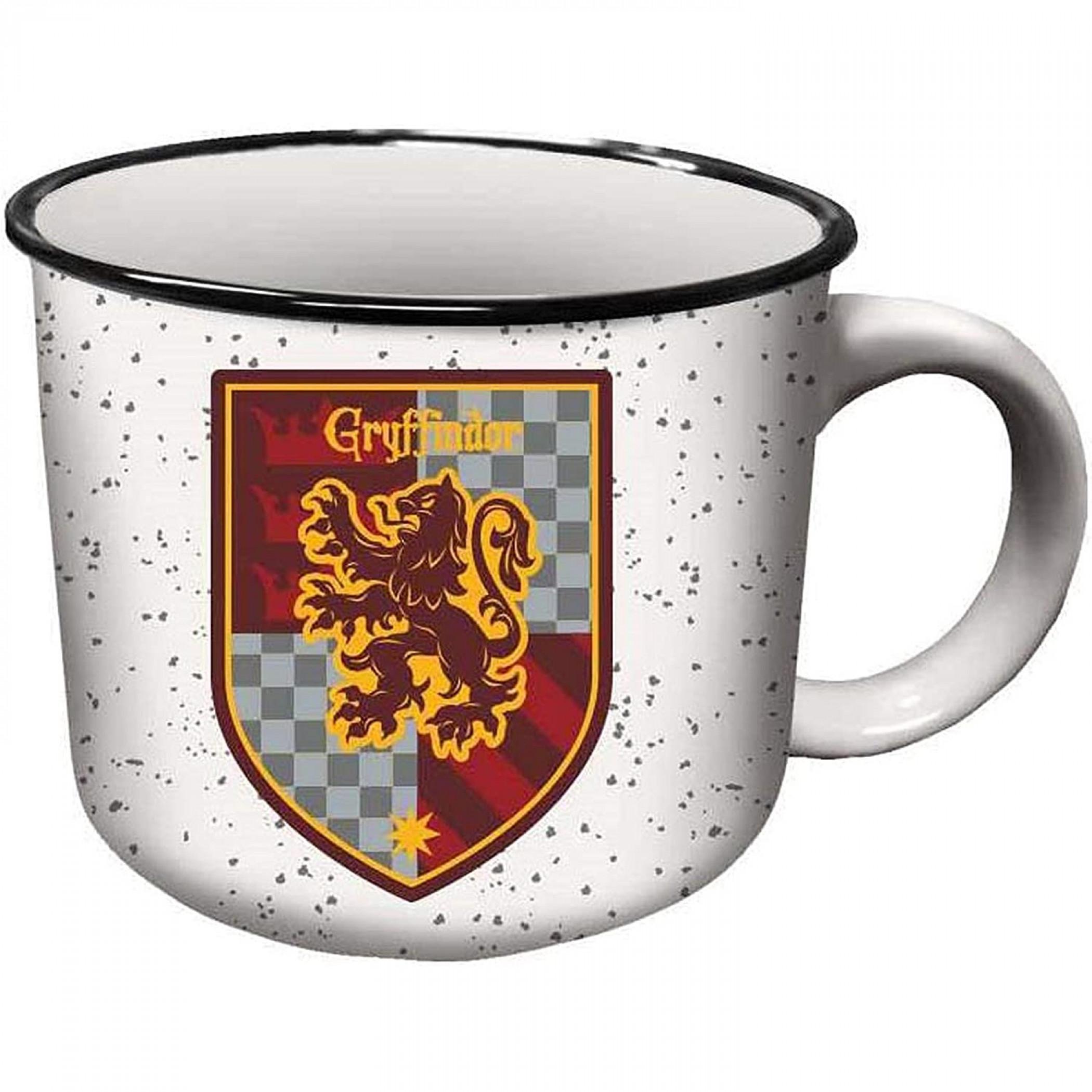 Harry Potter Gryffindor House Crest Ceramic Camper Mug
