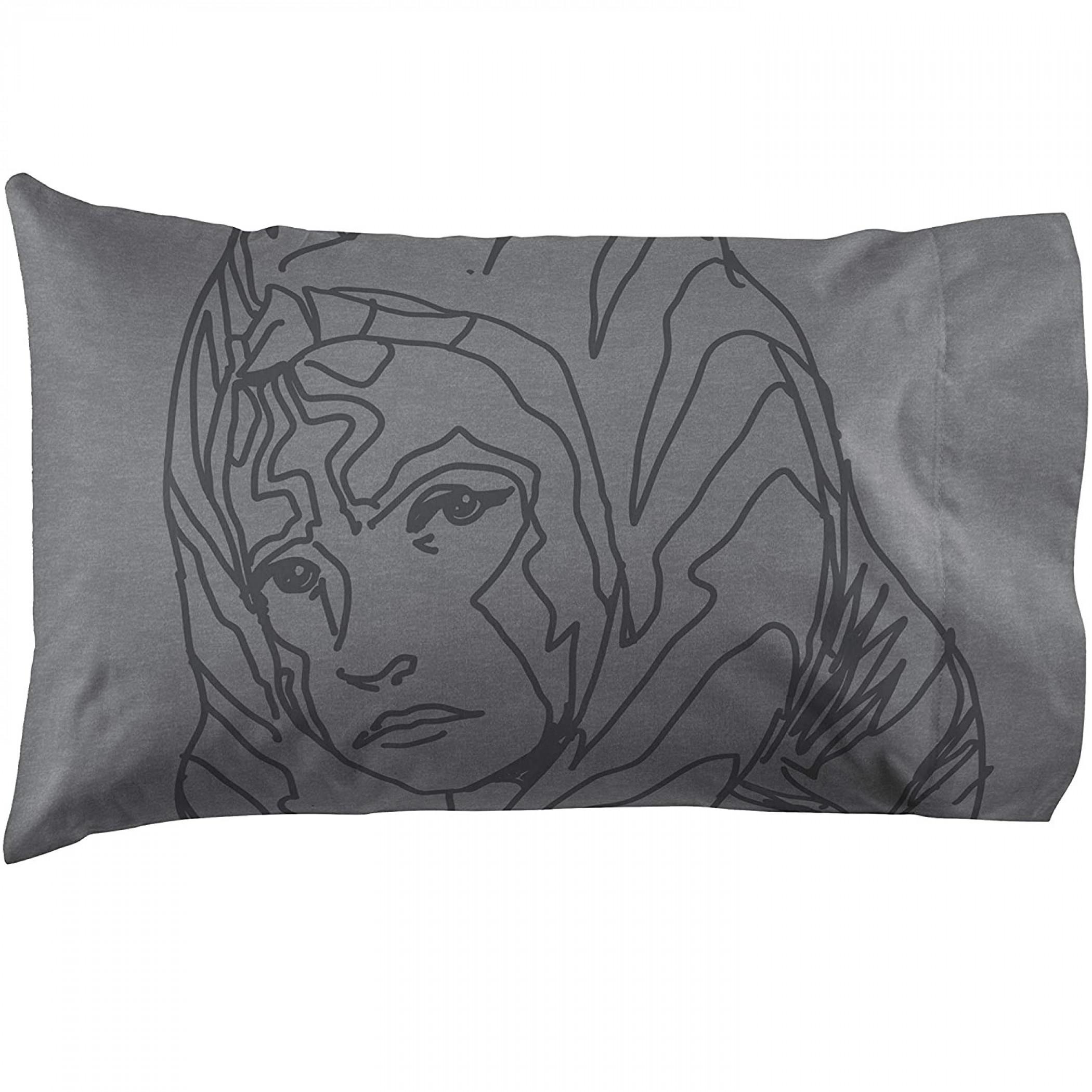 Star Wars Clone Wars Ahsoka Lives Pillowcase