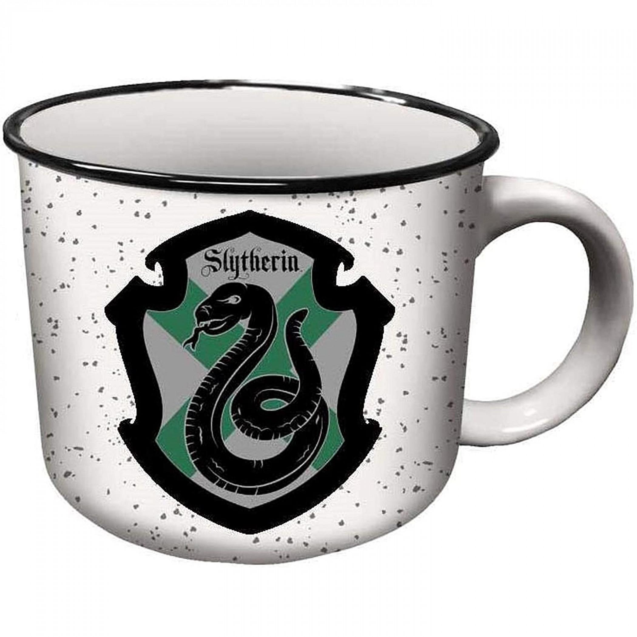 Harry Potter Slytherin House Crest Ceramic Camper Mug