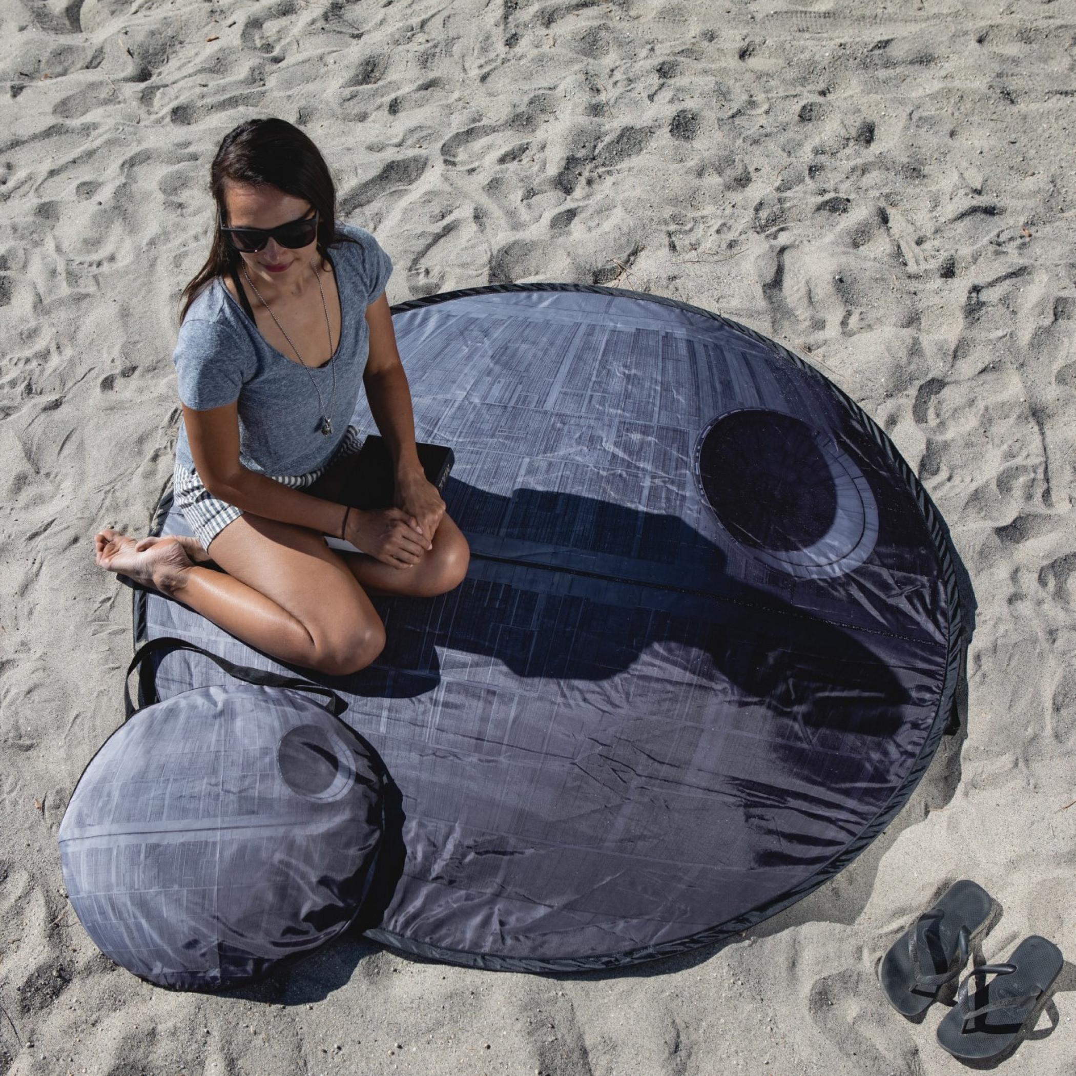 Star Wars Death Star Pop-Up Picnic & Beach Blanket