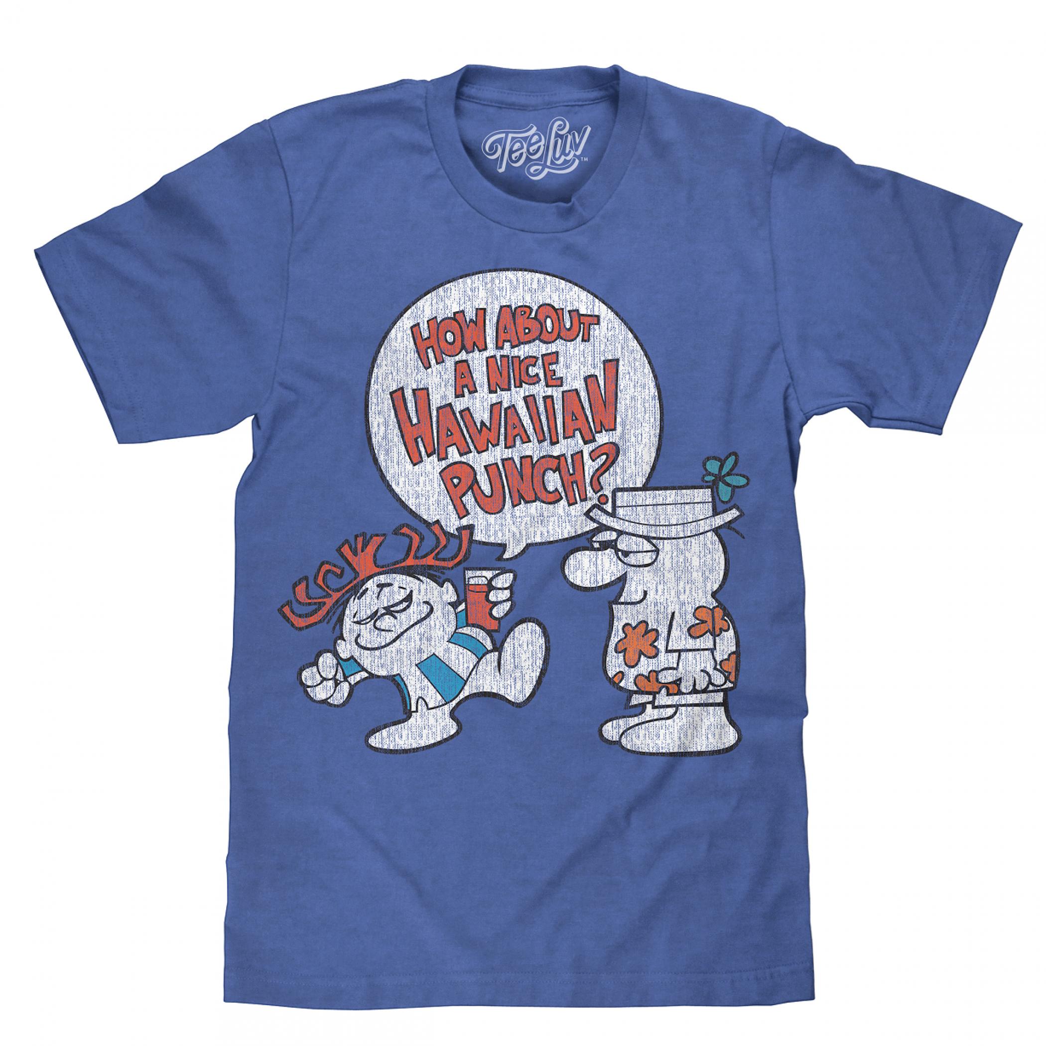 Hawaiian Punch Blue T-Shirt